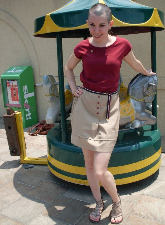 I could be an airline hostess in the 60′s… 2