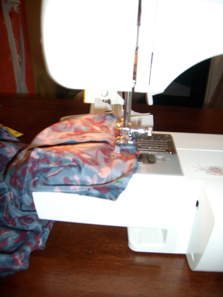 sewing sleeve