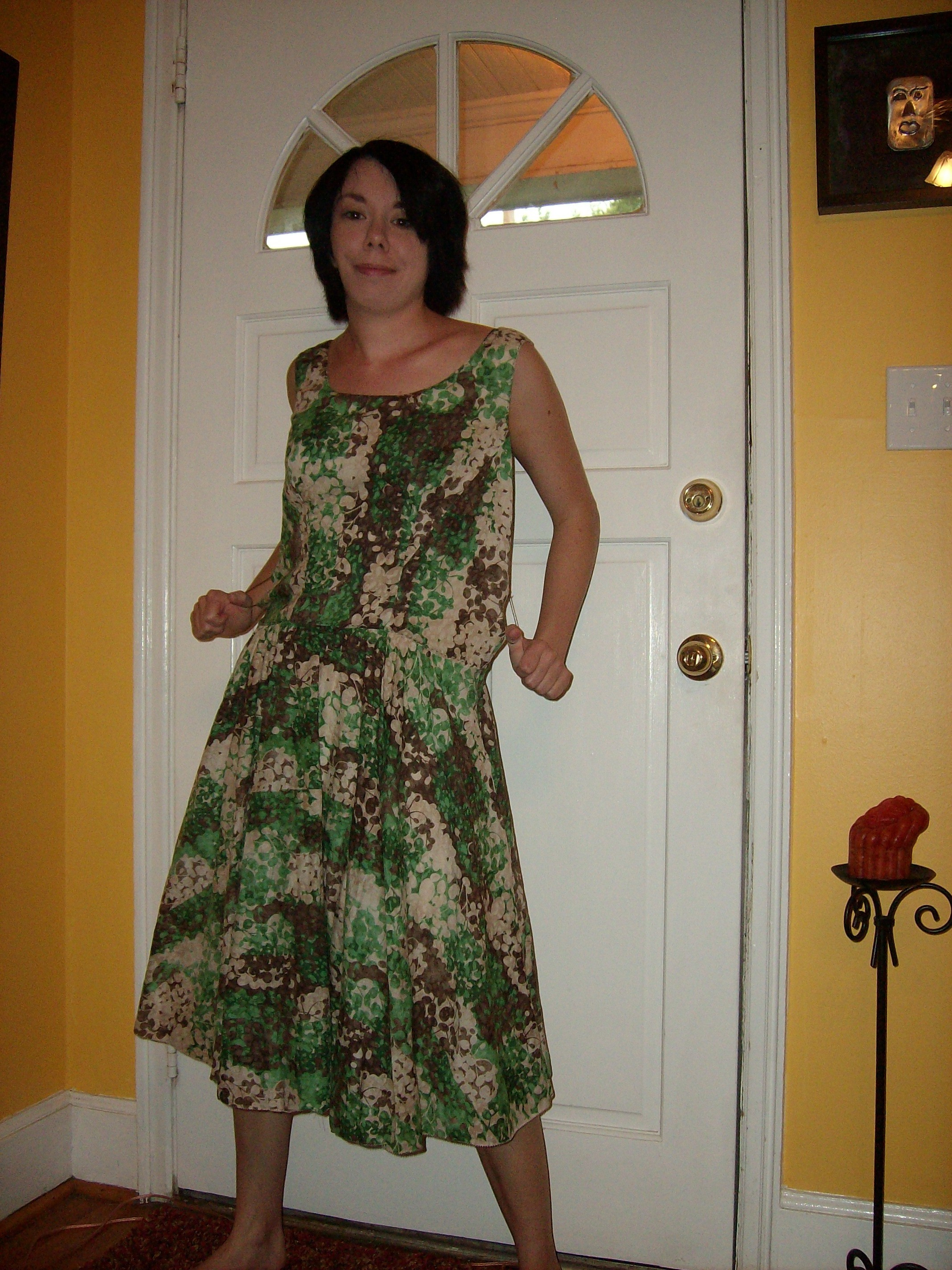 Day 7: Frolic in Clover Dress 2