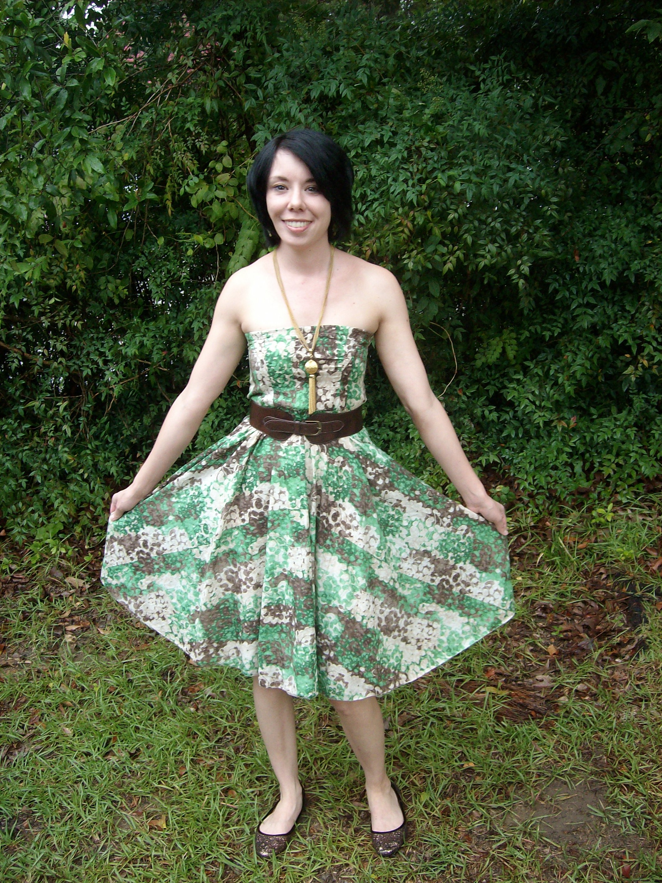 Day 7: Frolic in Clover Dress 9