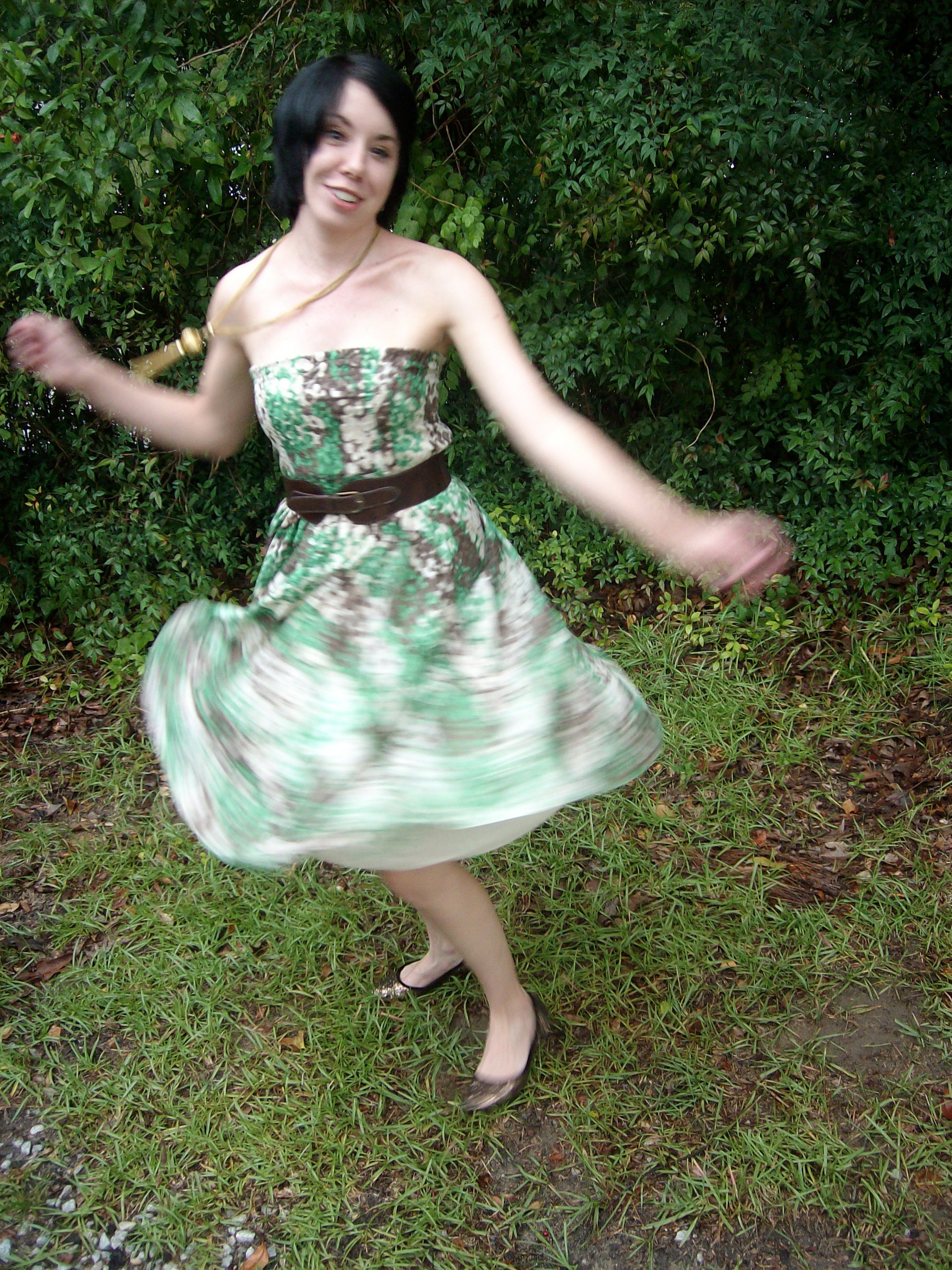 Day 7: Frolic in Clover Dress 10