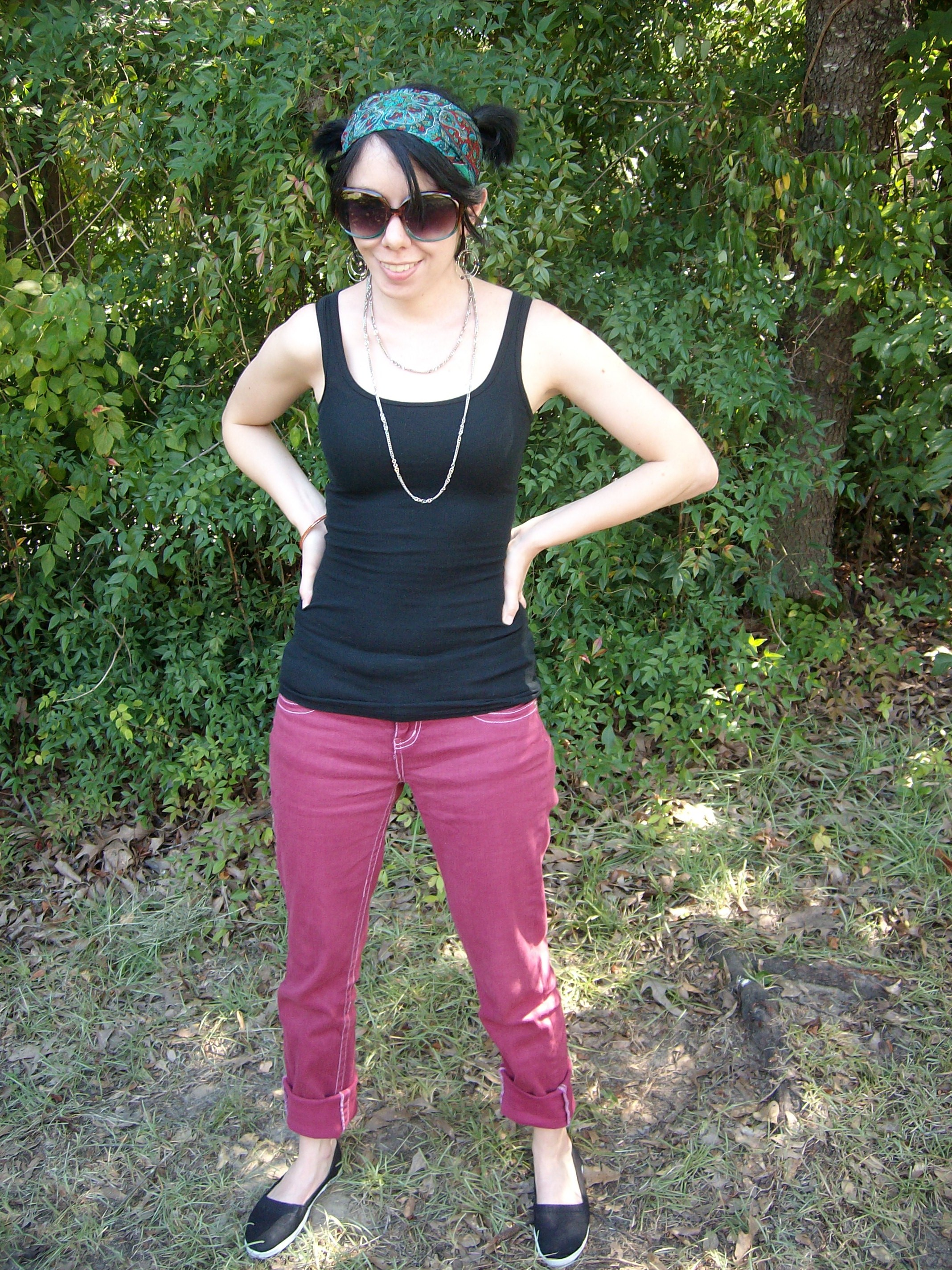 Day 18: Wine not? How to Dye White Jeans 6