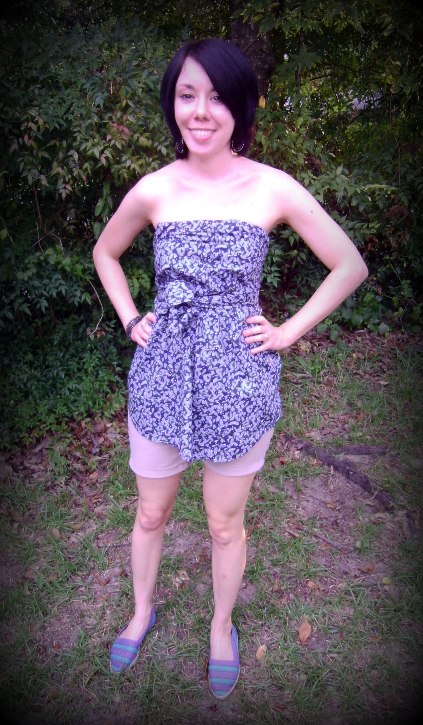 Day 43: Khaki Shorts & A No-Sew Top 8