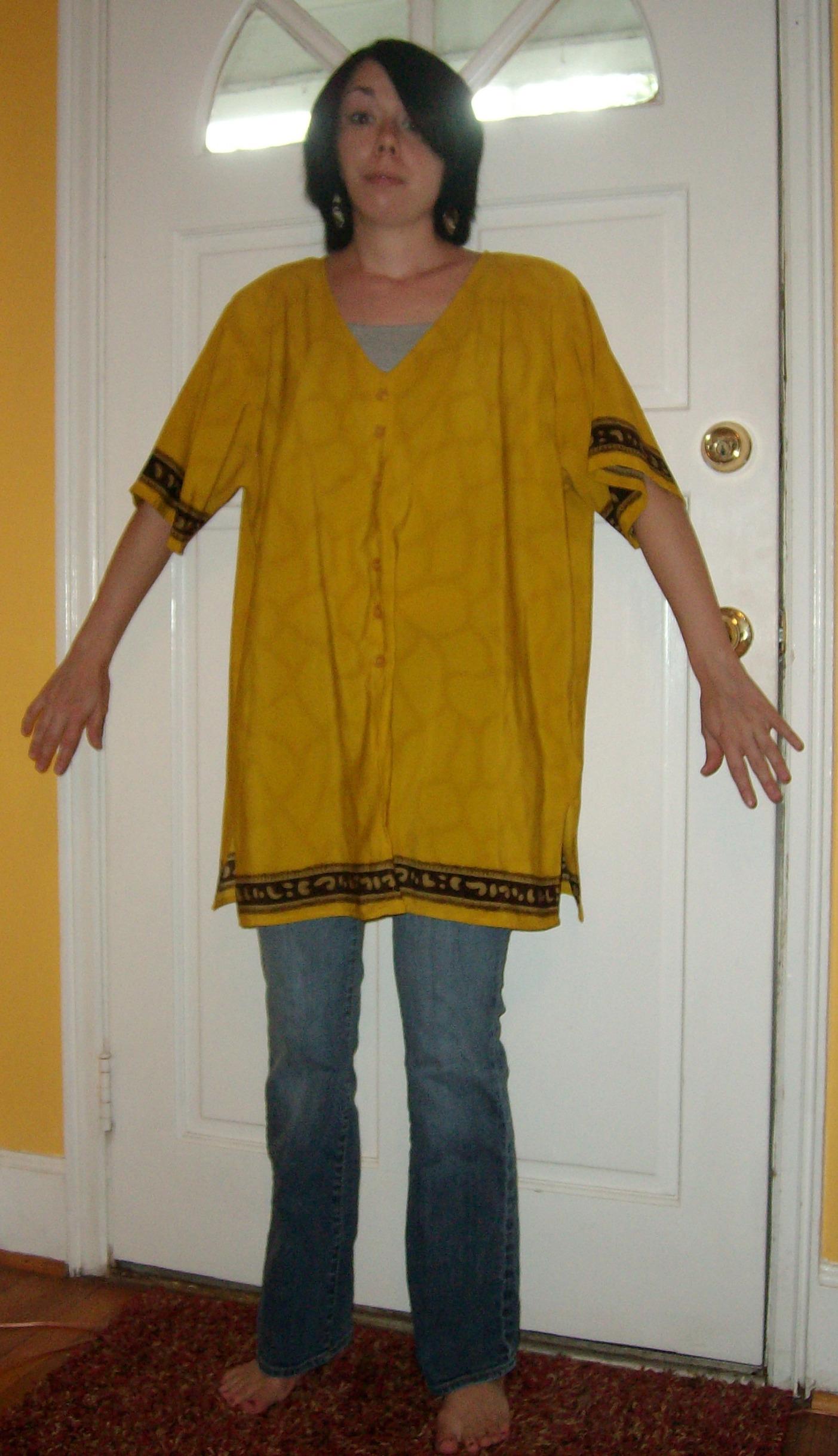 Day 34:  Gladiator Dress 2