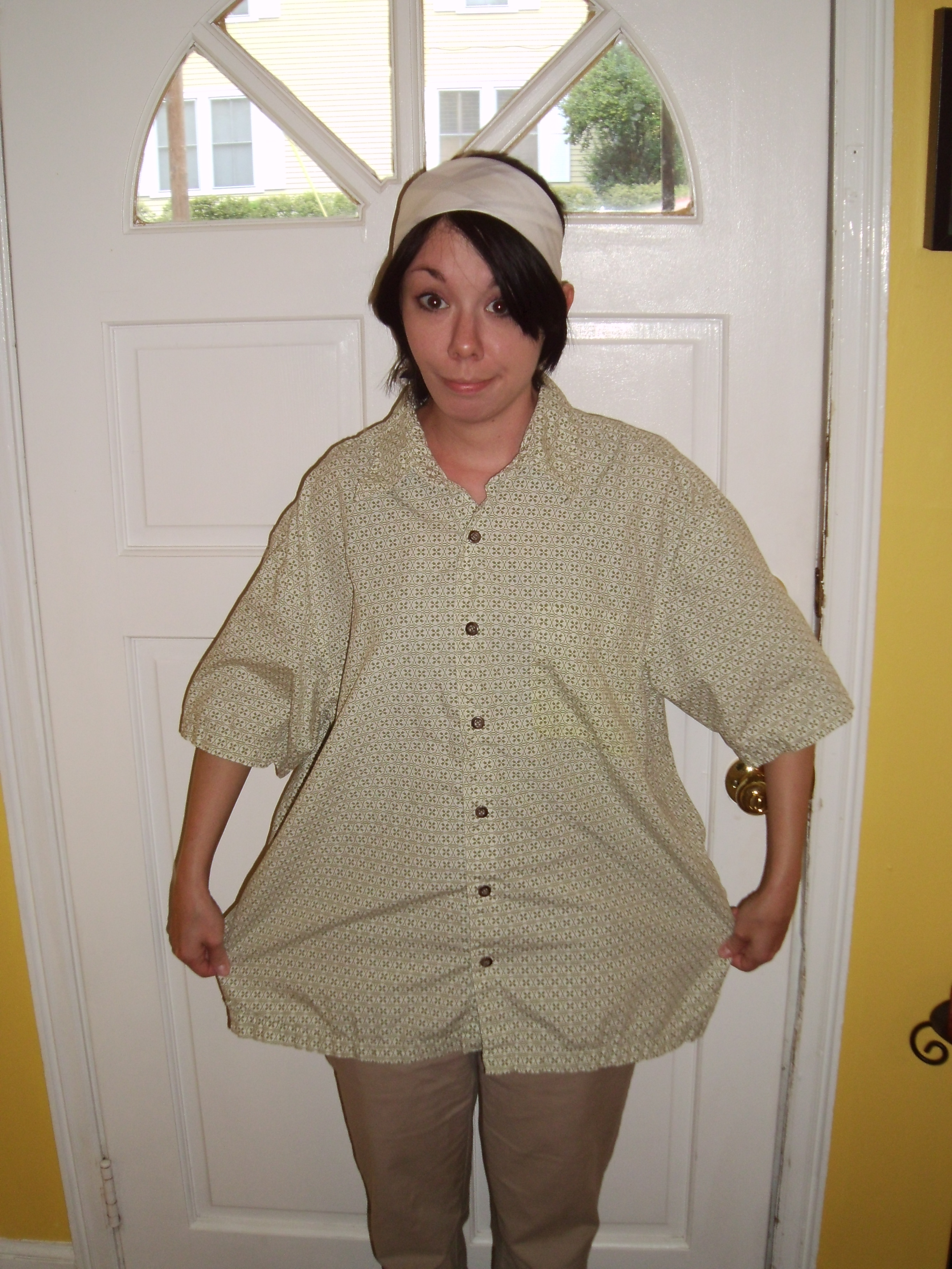 Day 36:  Shirt is Skirt 2
