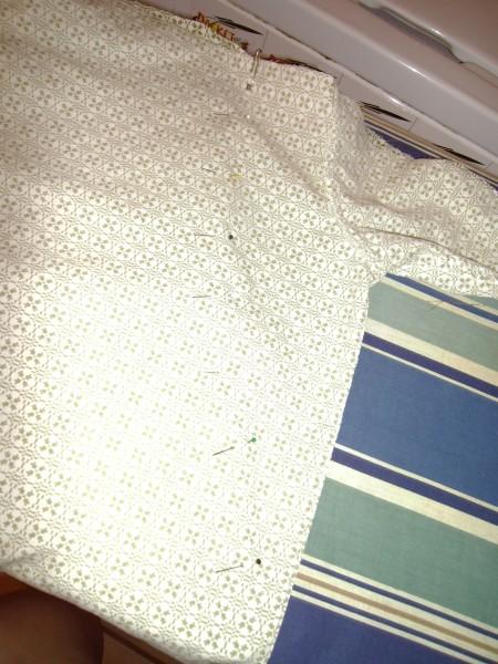 Day 36: Shirt is Skirt: A Men's Short Sleeve Button Up Shirt to Skirt Refashion 5