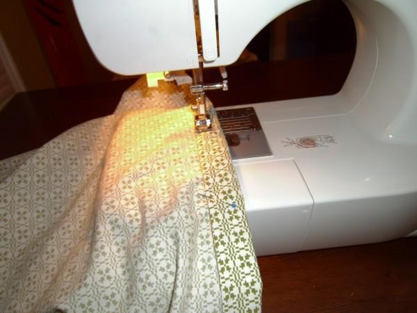 Day 36: Shirt is Skirt: A Men's Short Sleeve Button Up Shirt to Skirt Refashion 7