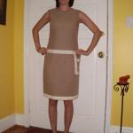 Day 40:  A Basic Khaki Skirt