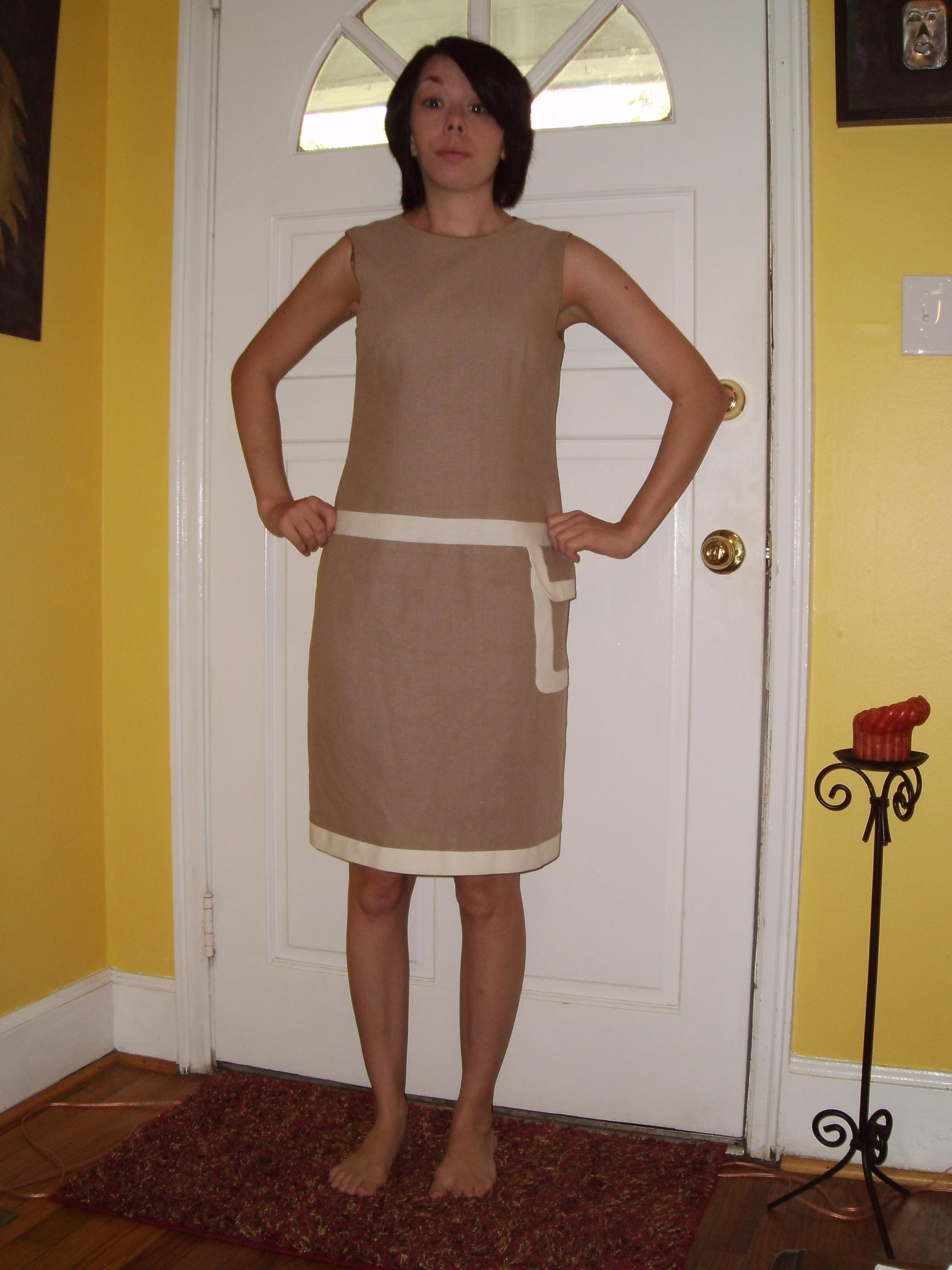 Day 40:  A Basic Khaki Skirt 2