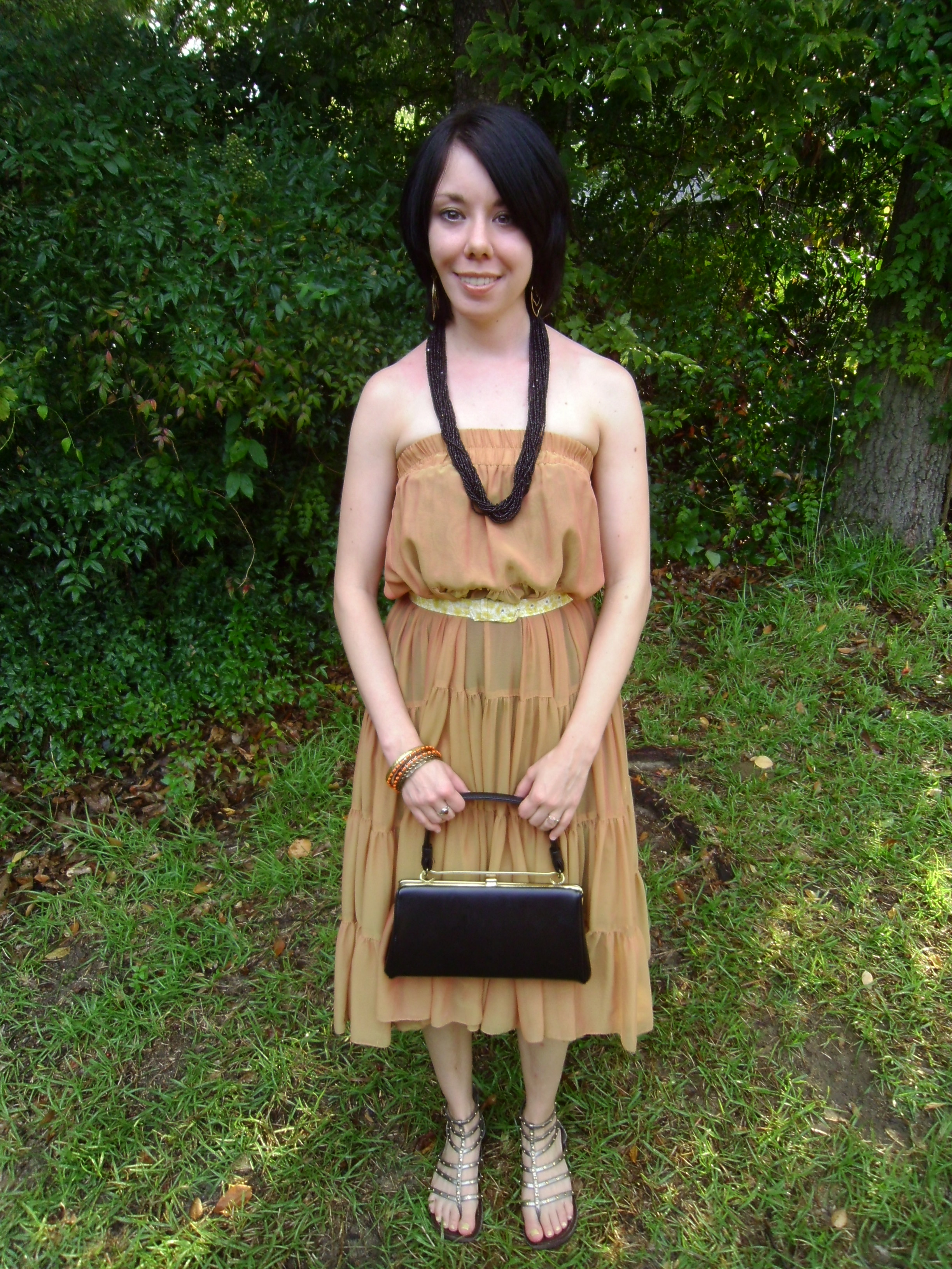 Day 52:  Corn Goddess Dress/ A Challenging Challenge 5