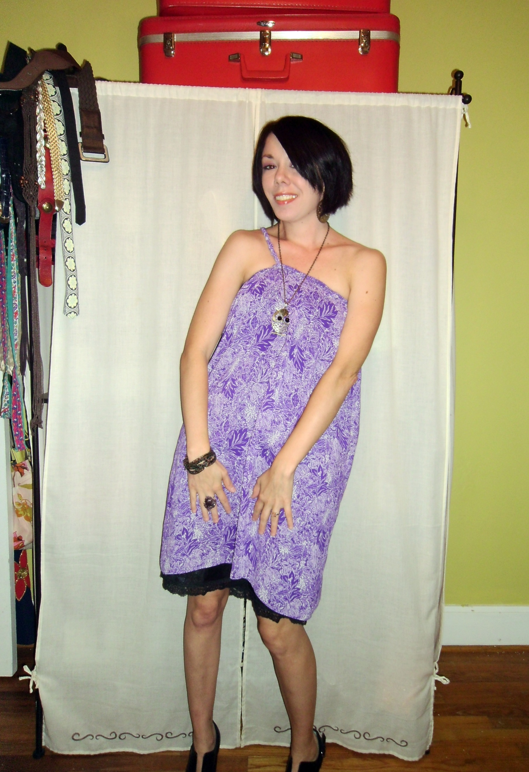 Day 86: Purple Rainforest Dress...Take 2! 7