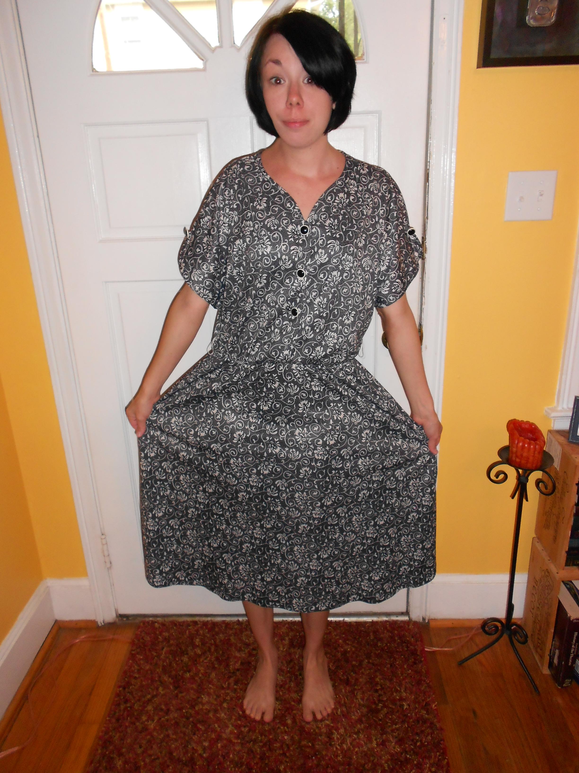 Day 80:  Pleasantville Dress 2