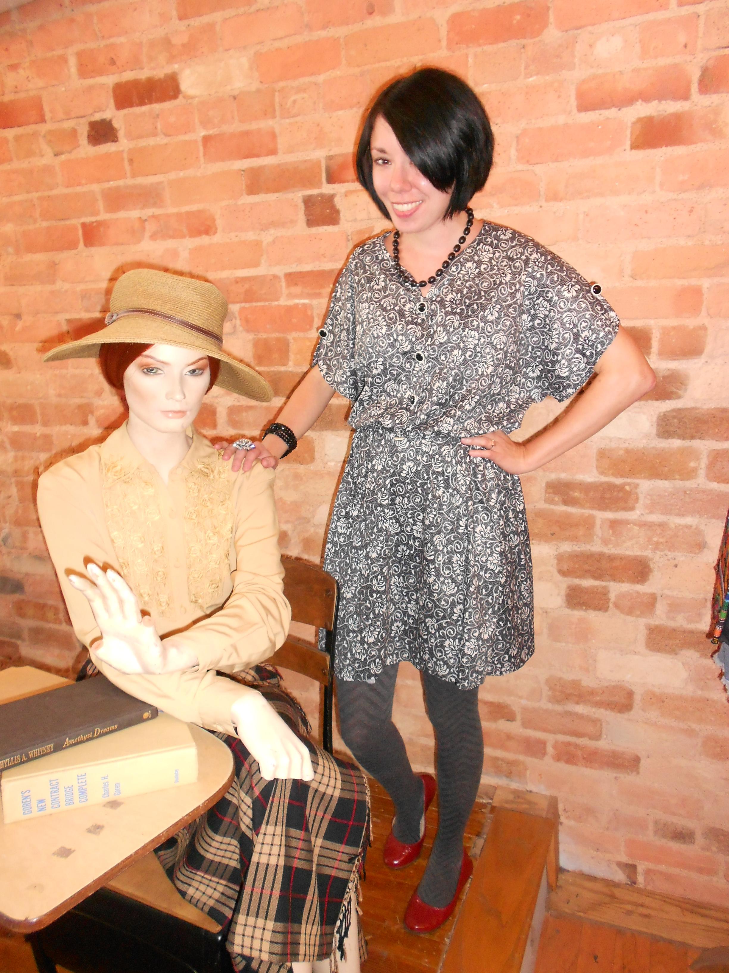 Day 80:  Pleasantville Dress 4