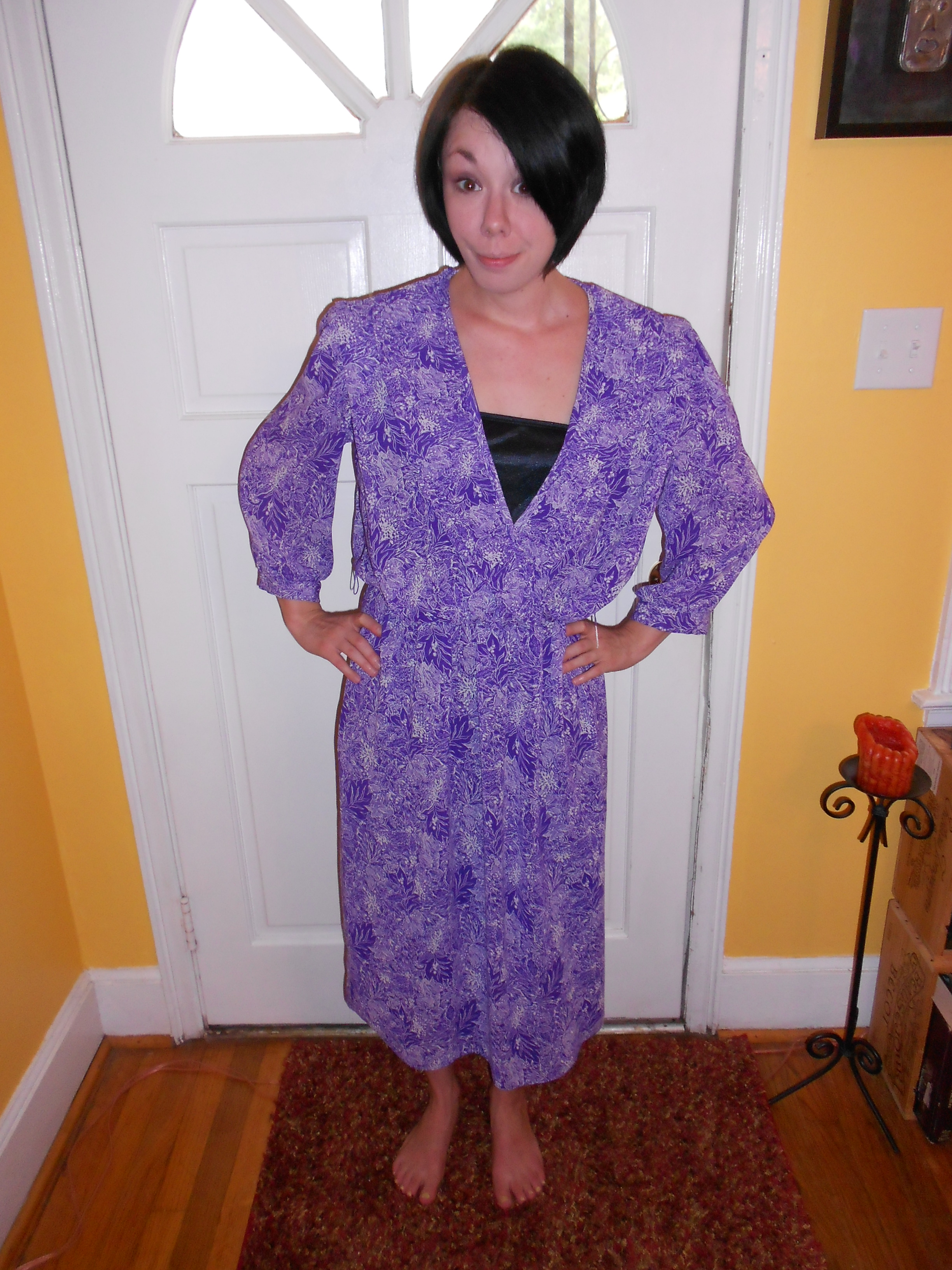 Day 81:  Purple Rainforest Dress 4