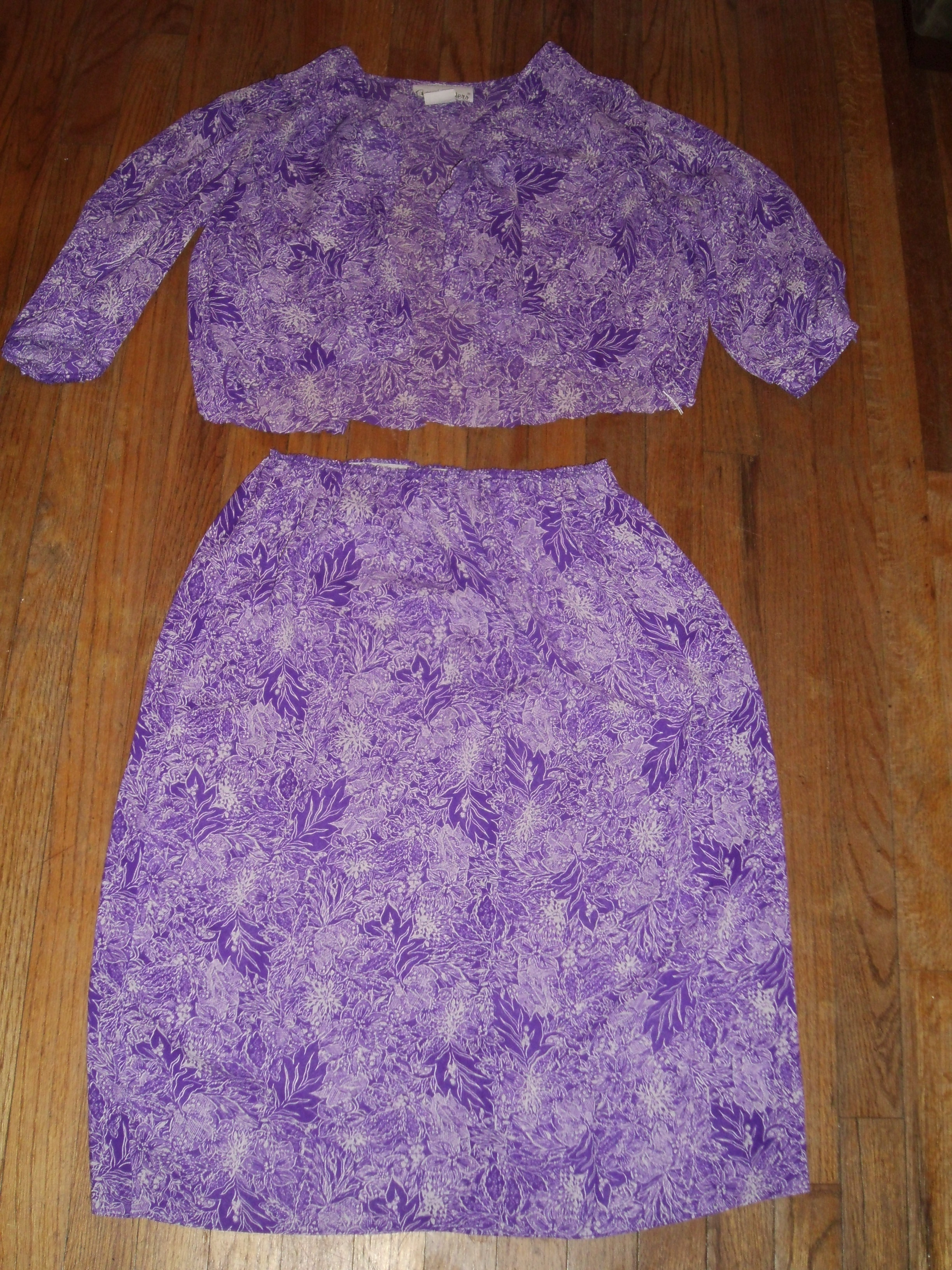 Day 86: Purple Rainforest Dress...Take 2! 4