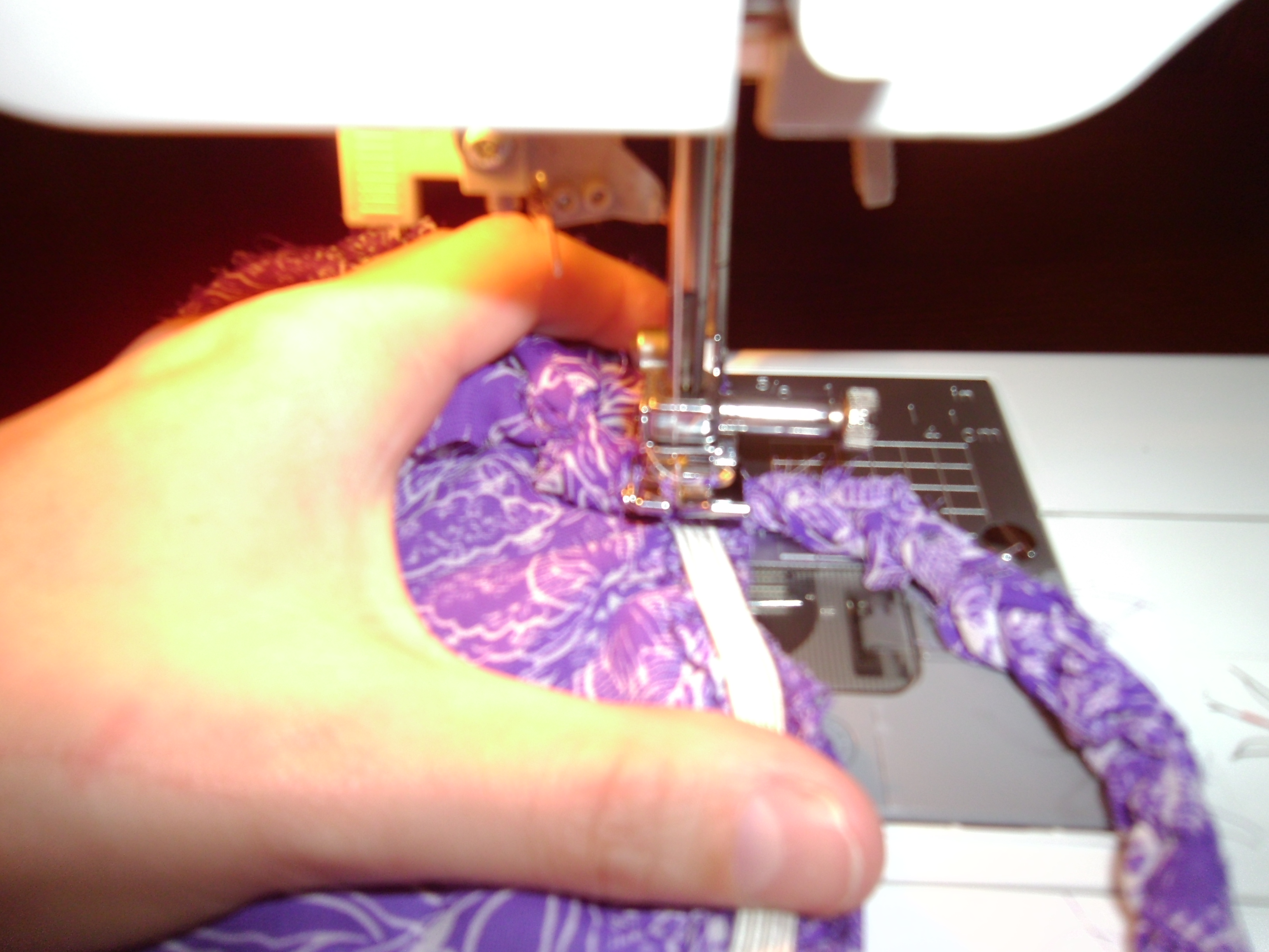 Day 86:  Purple Rainforest Dress...Take 2! 6