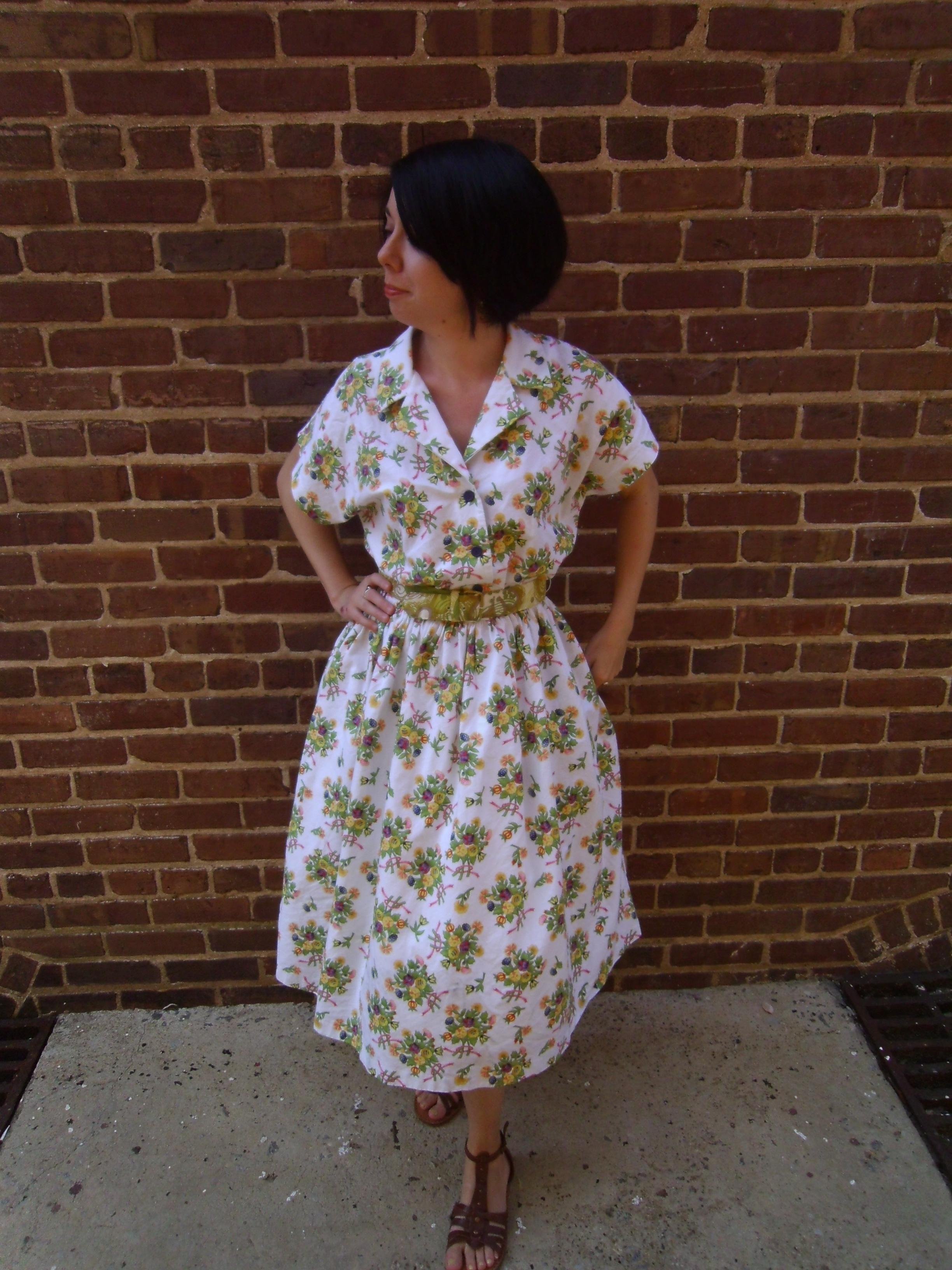 Day 92: June Cleaver Dress 5