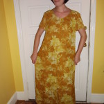 Day 64: Marigold Dress & The Nana Giveaway Winner!