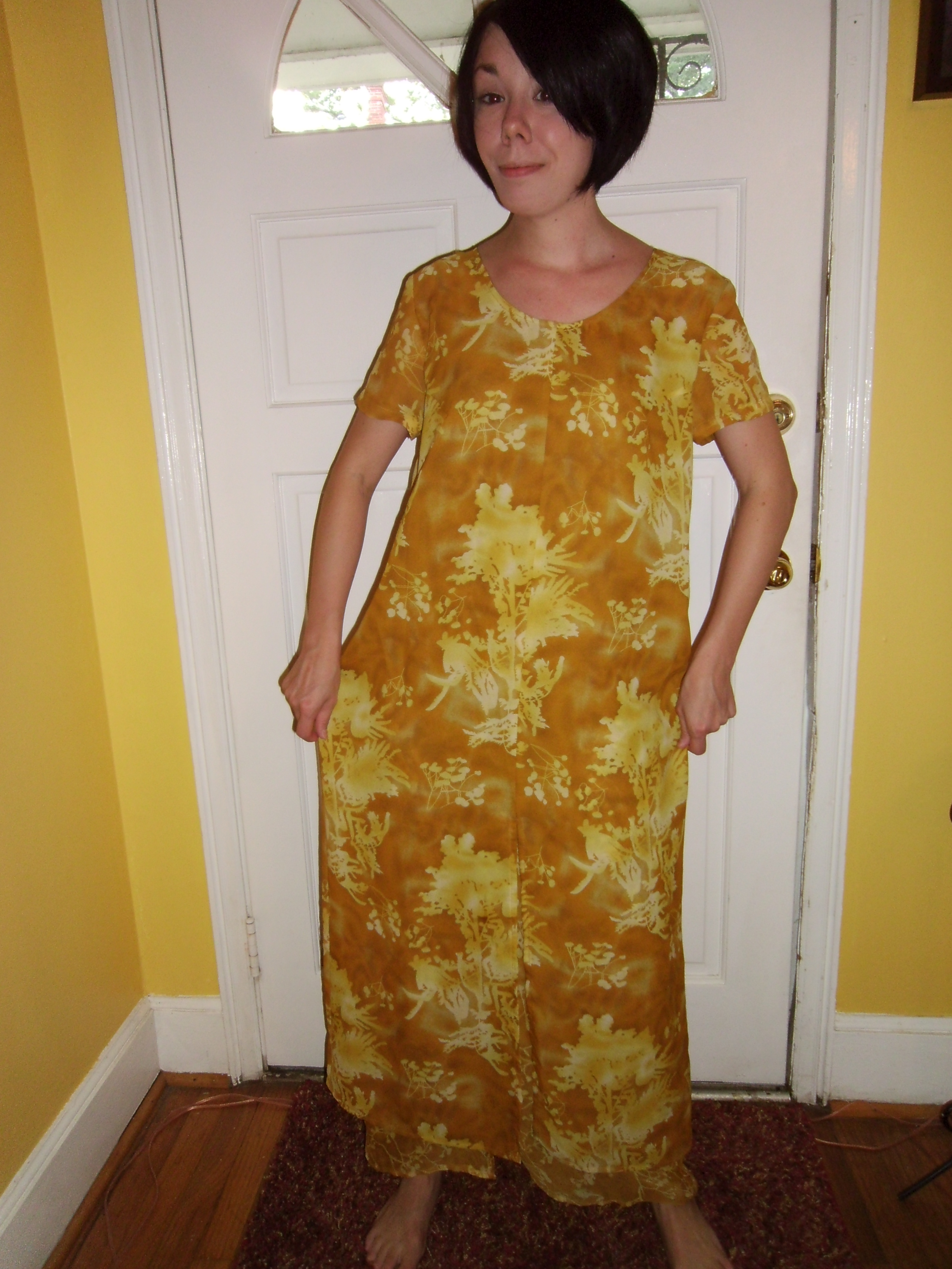 Day 64: Marigold Dress & The Nana Giveaway Winner! 12