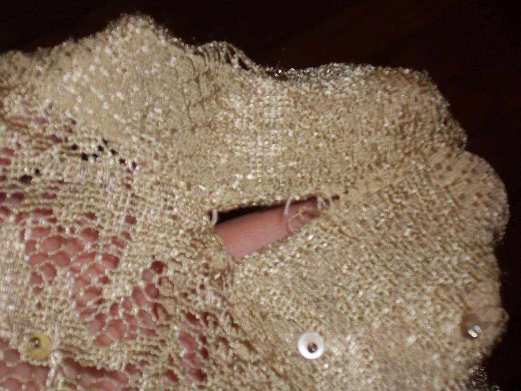 Day 93: Sequins and Lace Top 6