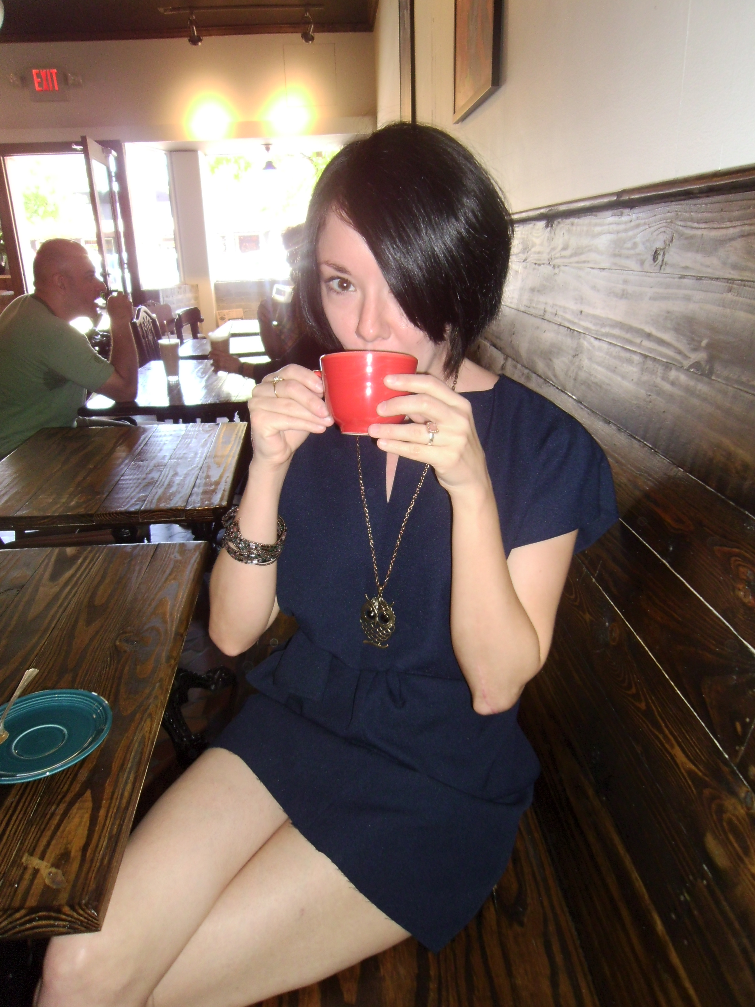 Day 96: Coffee Date Dress 4