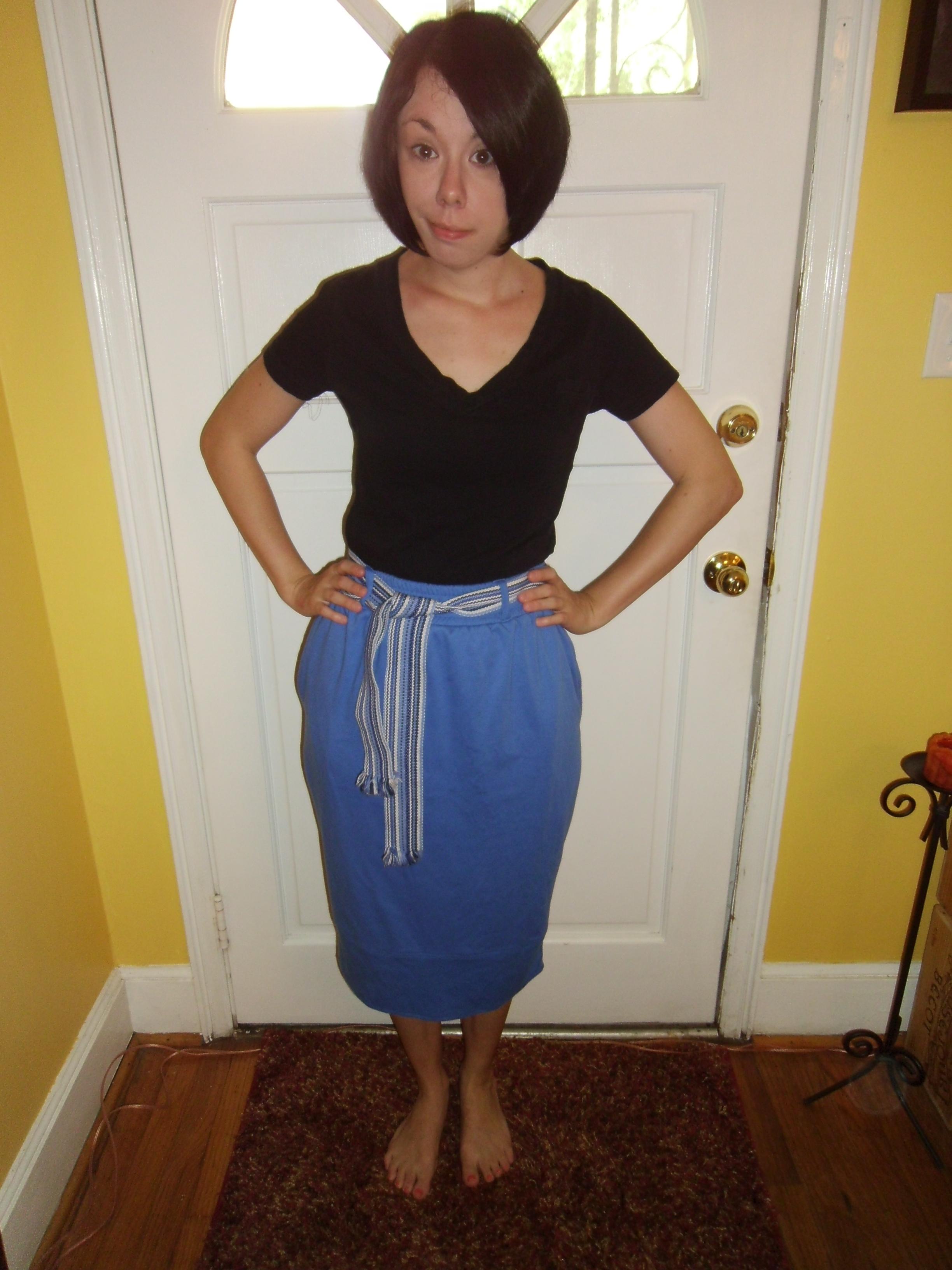Day 108:  Blue Wish Dress 2