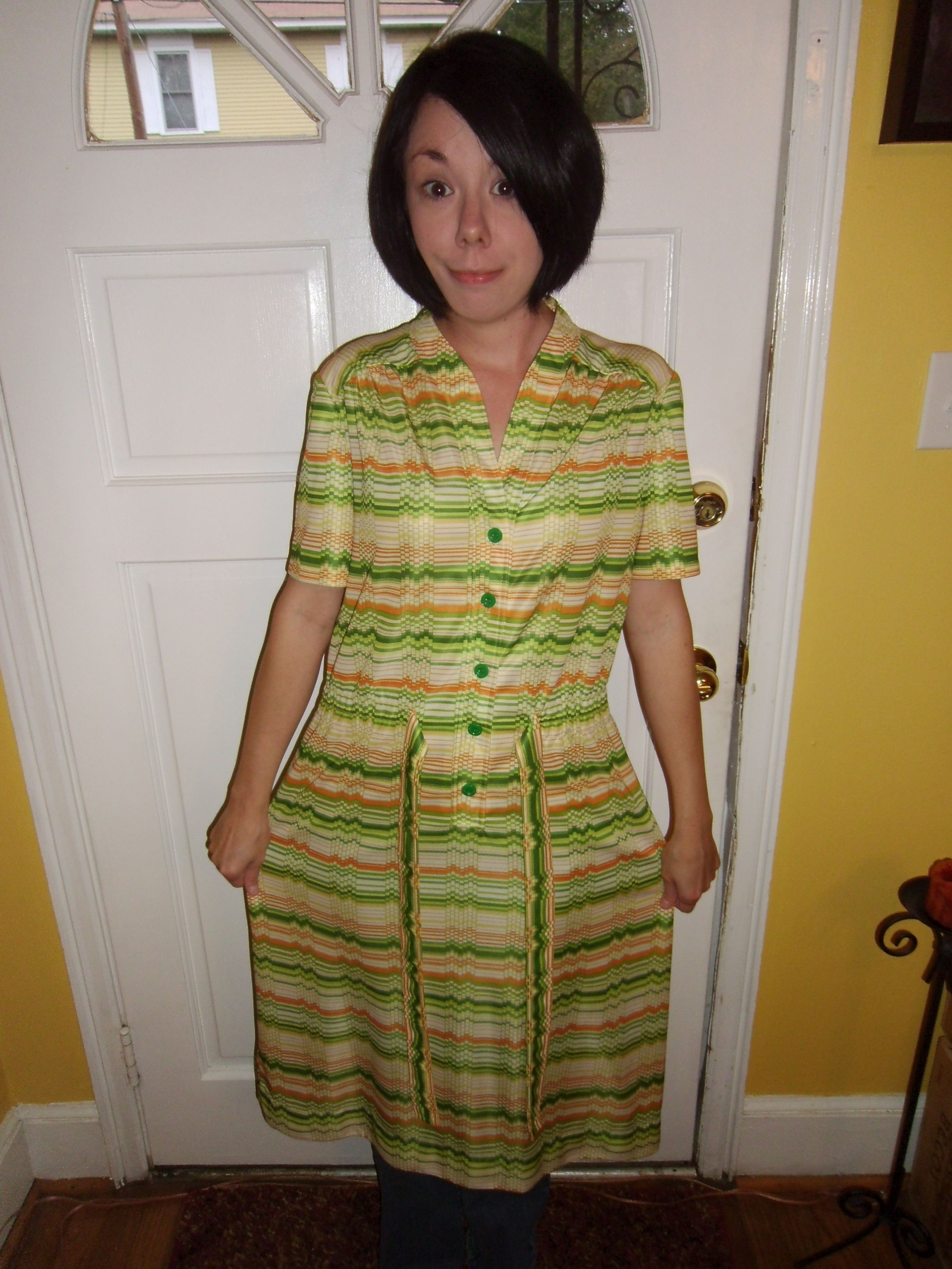 Day 113:  Citrus Grove Dress 12