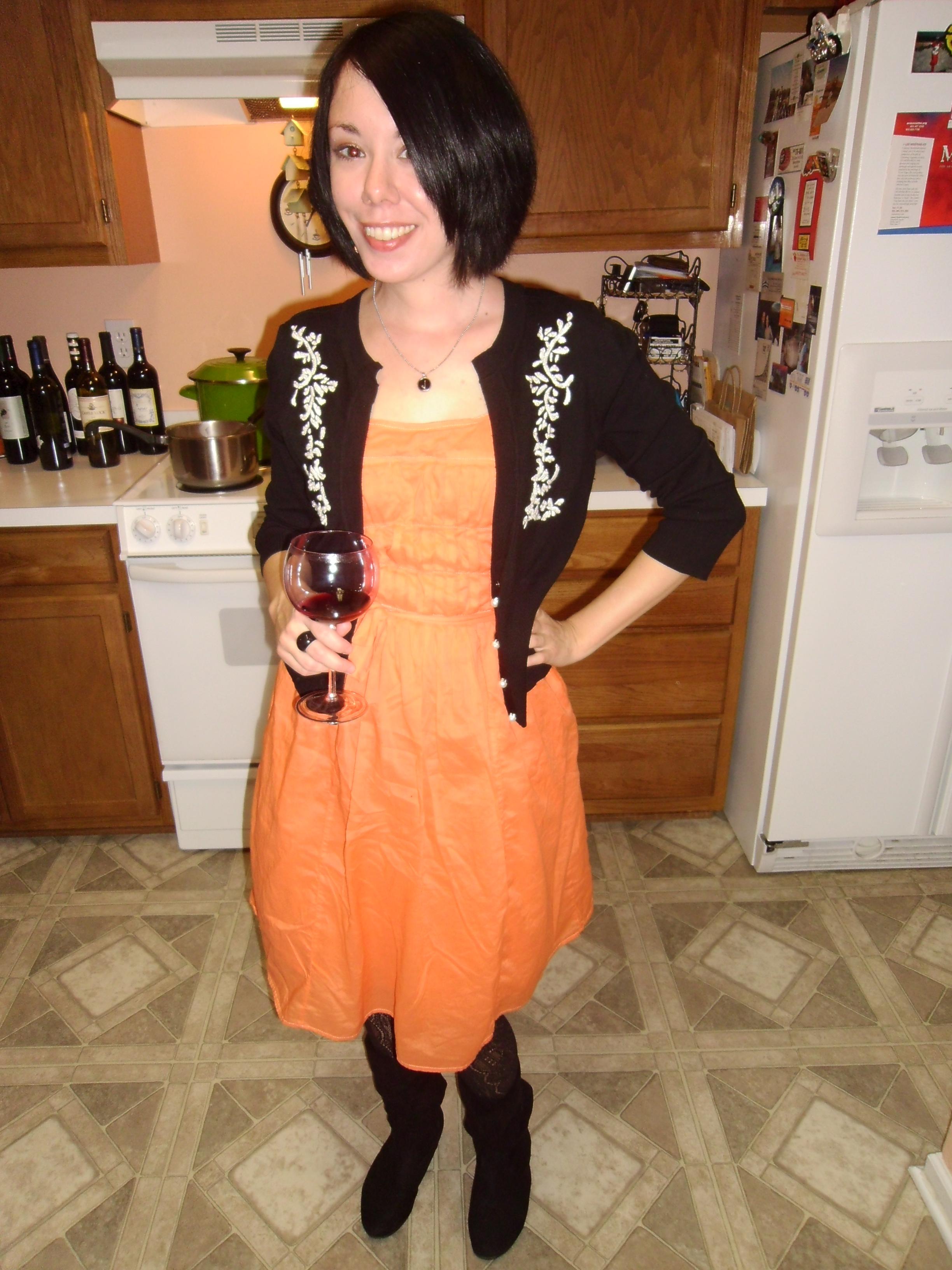 Day 123: Pumpkin Patch Dress 5