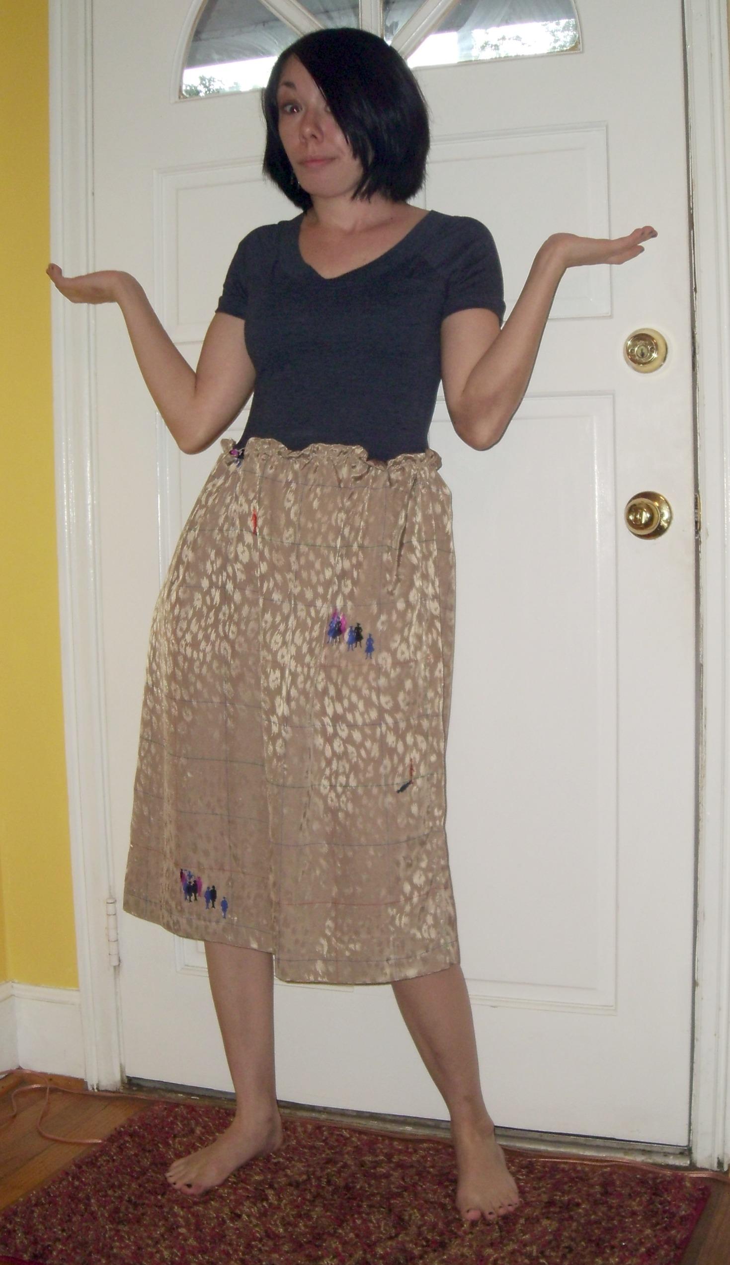 Day 146:  Fixing a Fail Skirt 2