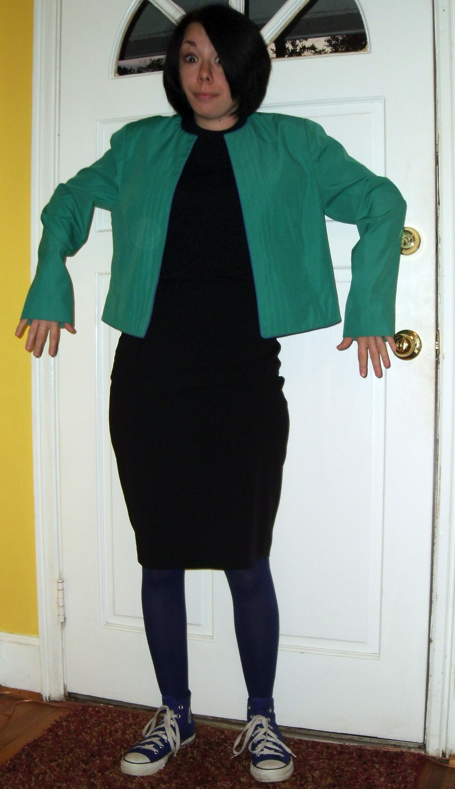 Day 132:  Stenographer Jacket 2