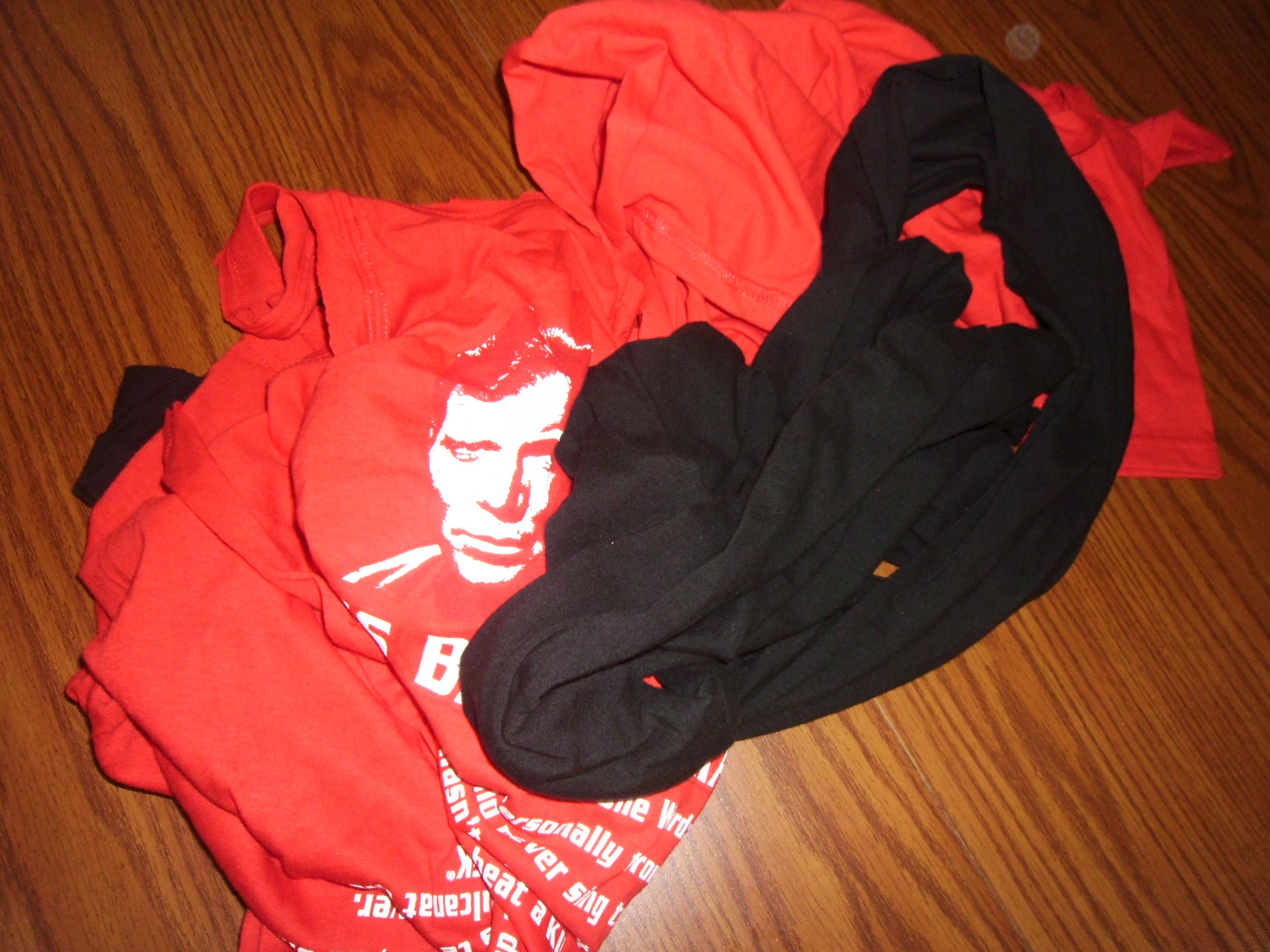 Day 129:  Scrap Busting T-Shirt Bangles 2