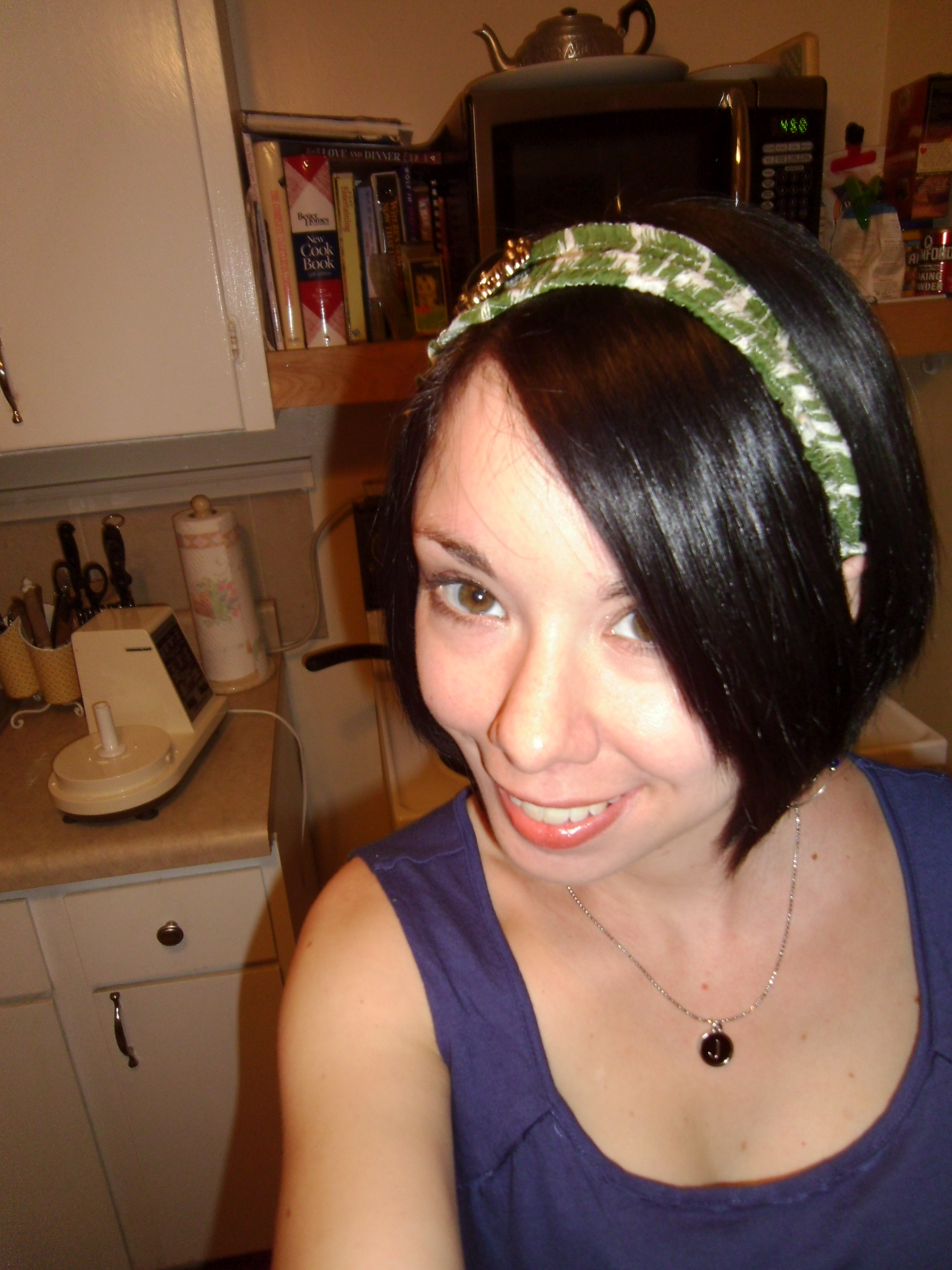 Day 136:  Scrap Busting Headband 6