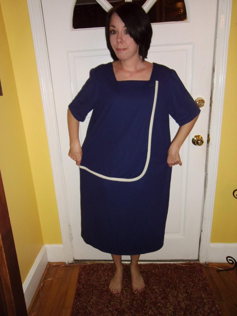 Day 139: Feeling Blue Dress 1