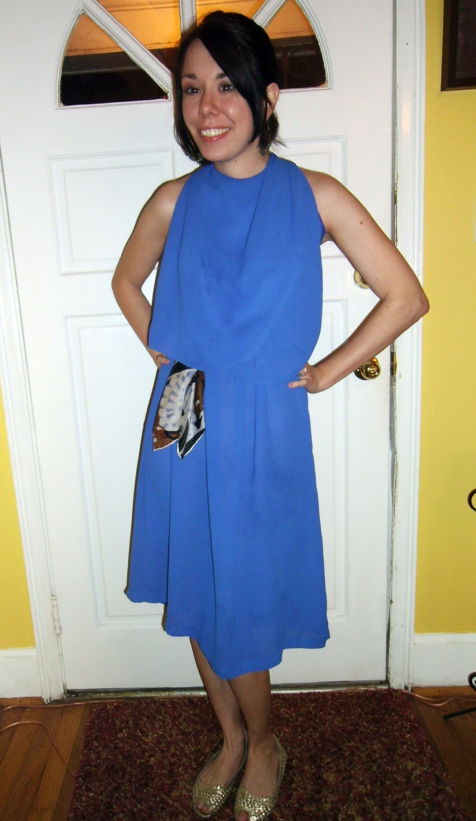 Day 170:  You Look Good in Blue Dress 5