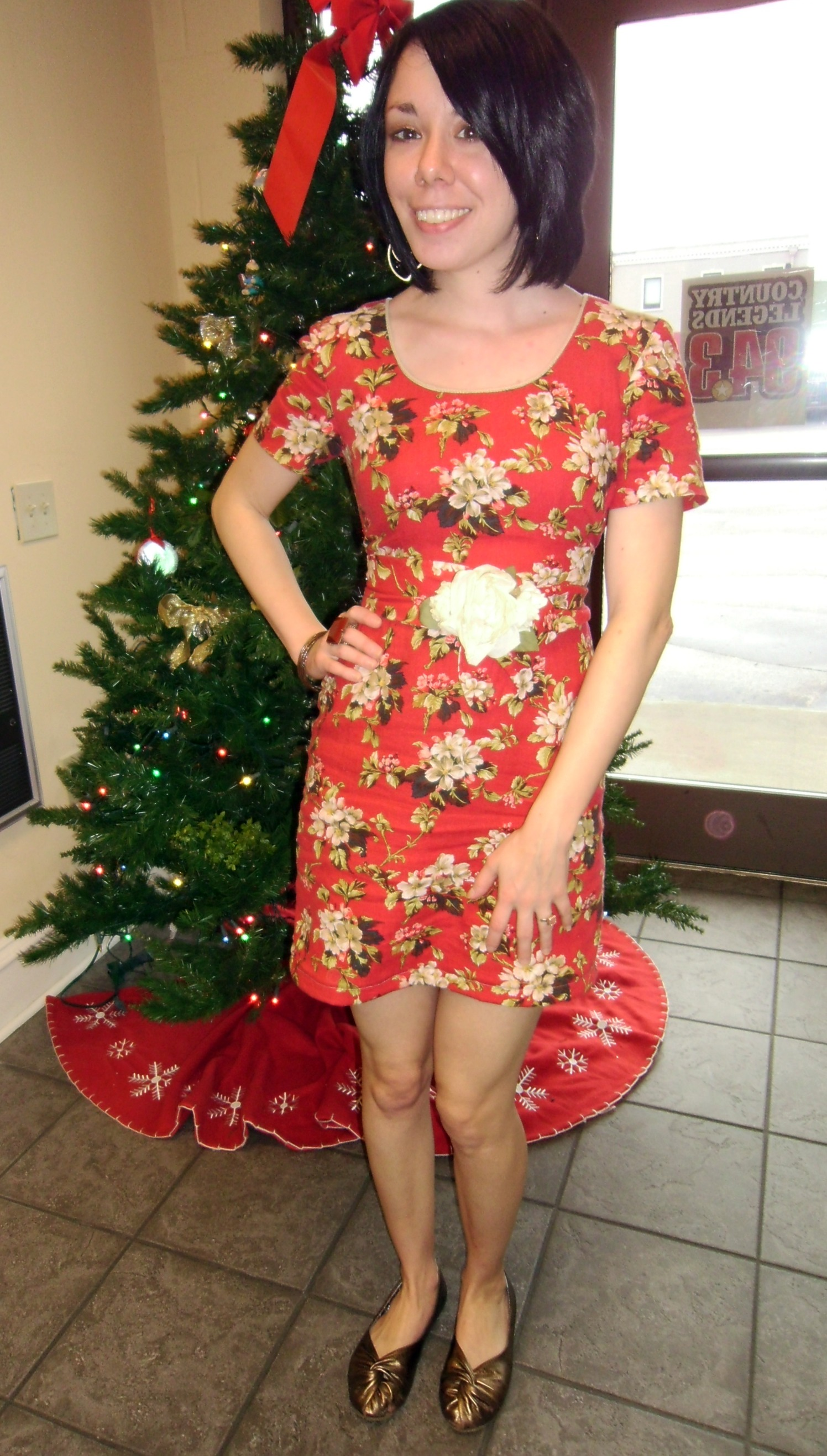 Day 175: Christmas Luncheon Dress 6