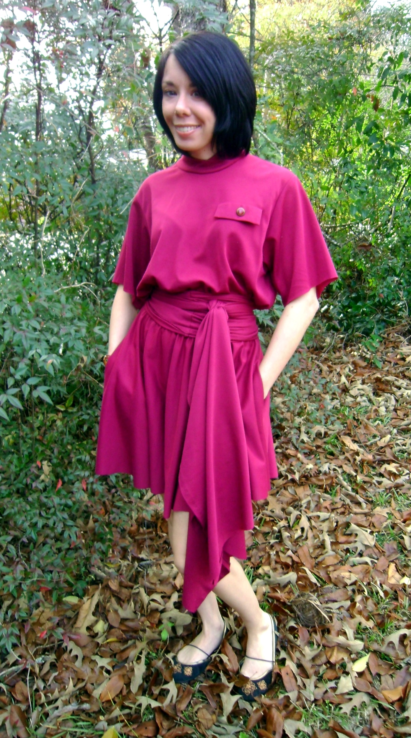 Day 177: Cranberry Sauce Dress 5