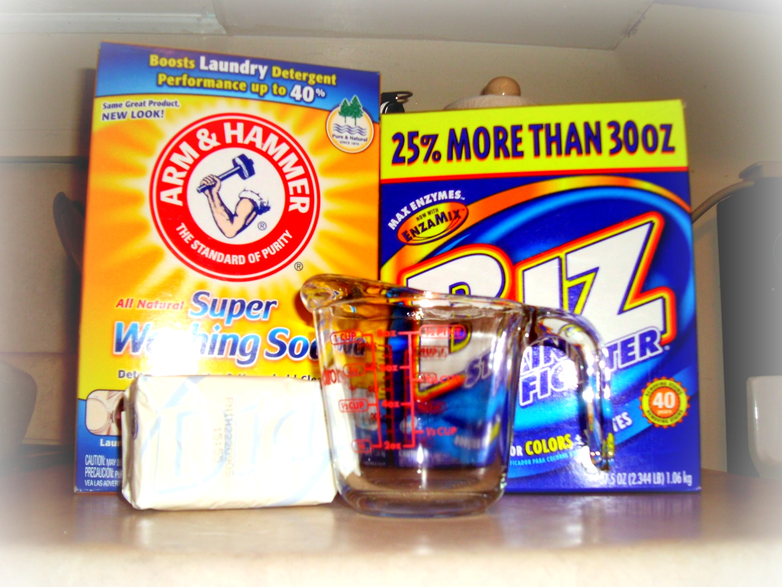 Day 161:  DIY Laundry Detergent 3