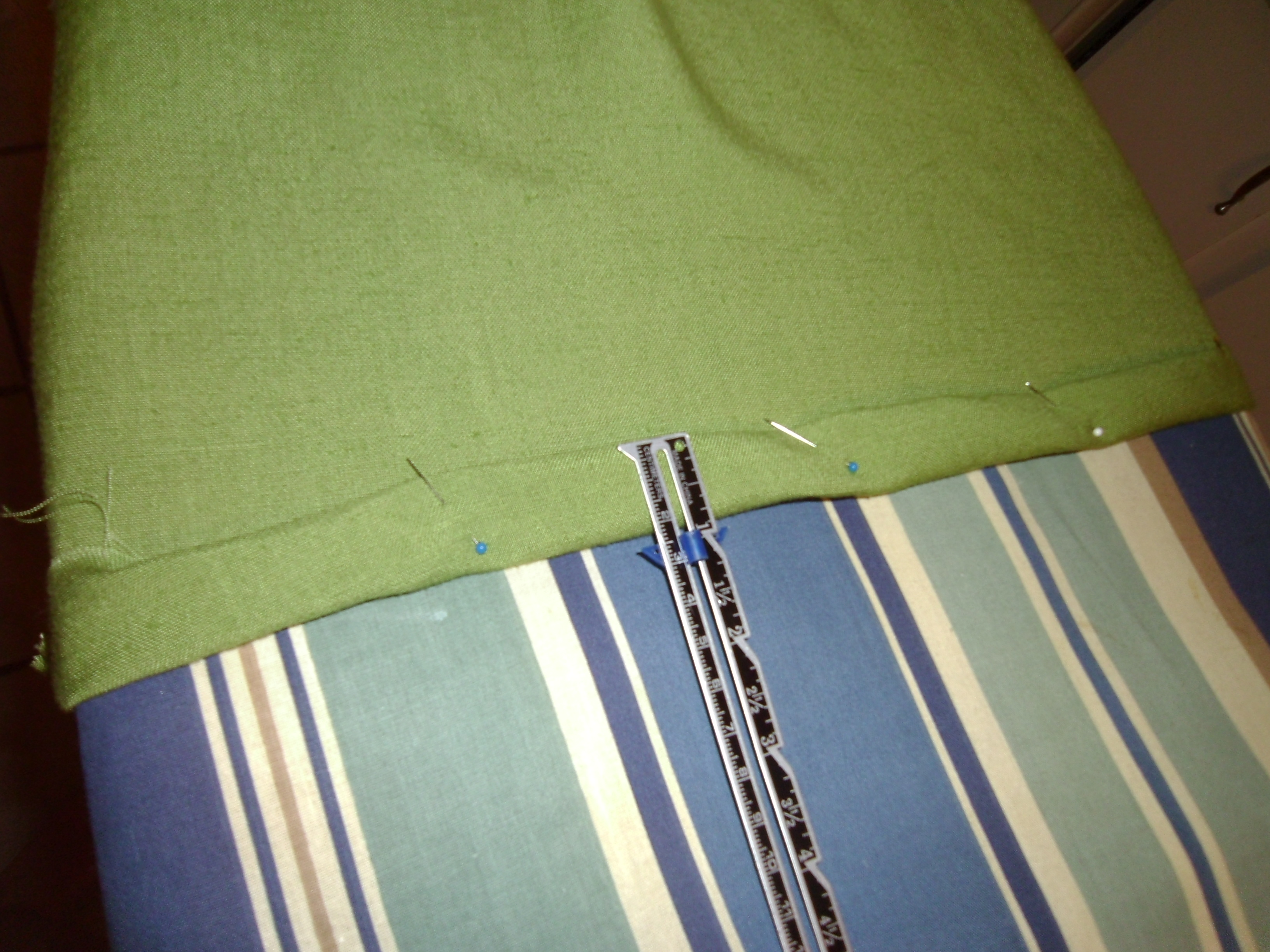 Day 176: How to Dye a White Dress Apple Green 5