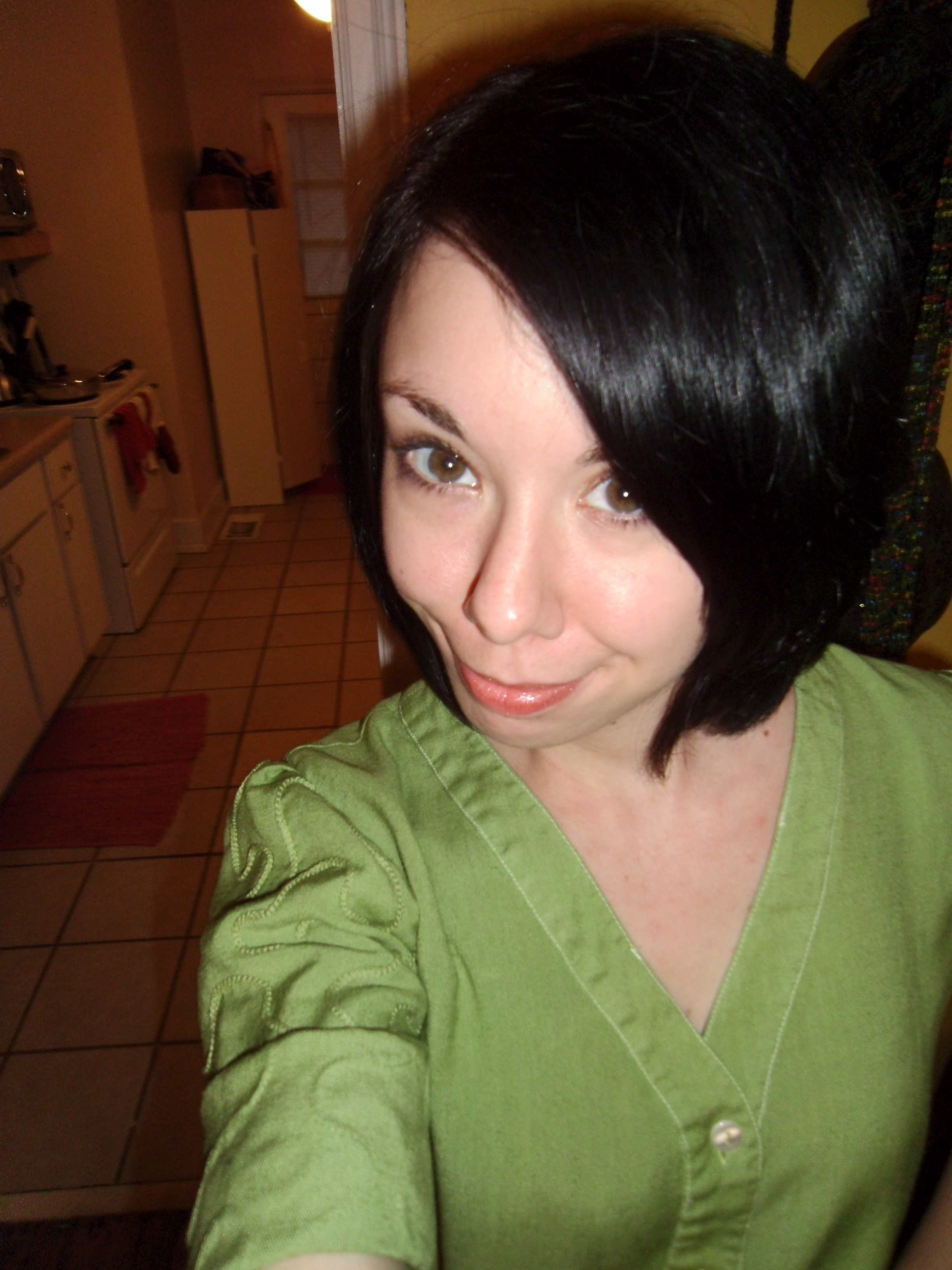 Day 176: How to Dye a White Dress Apple Green 7
