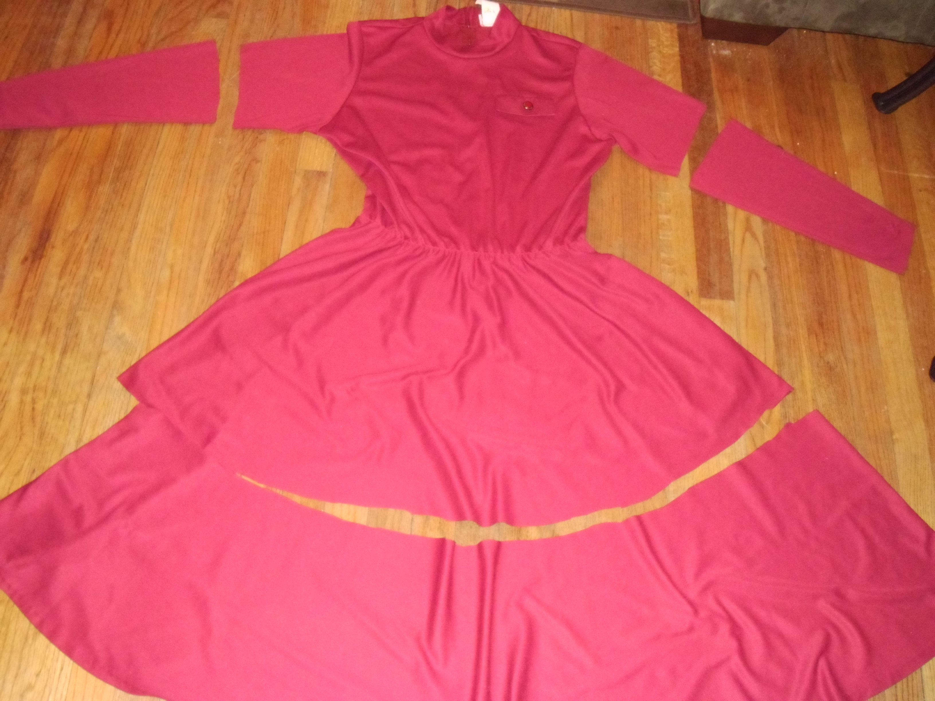 Day 177: Cranberry Sauce Dress 4