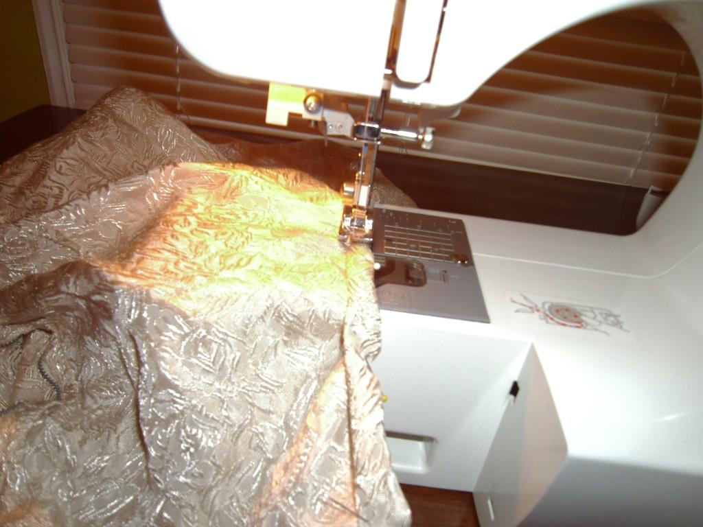 sewing dowdy dress