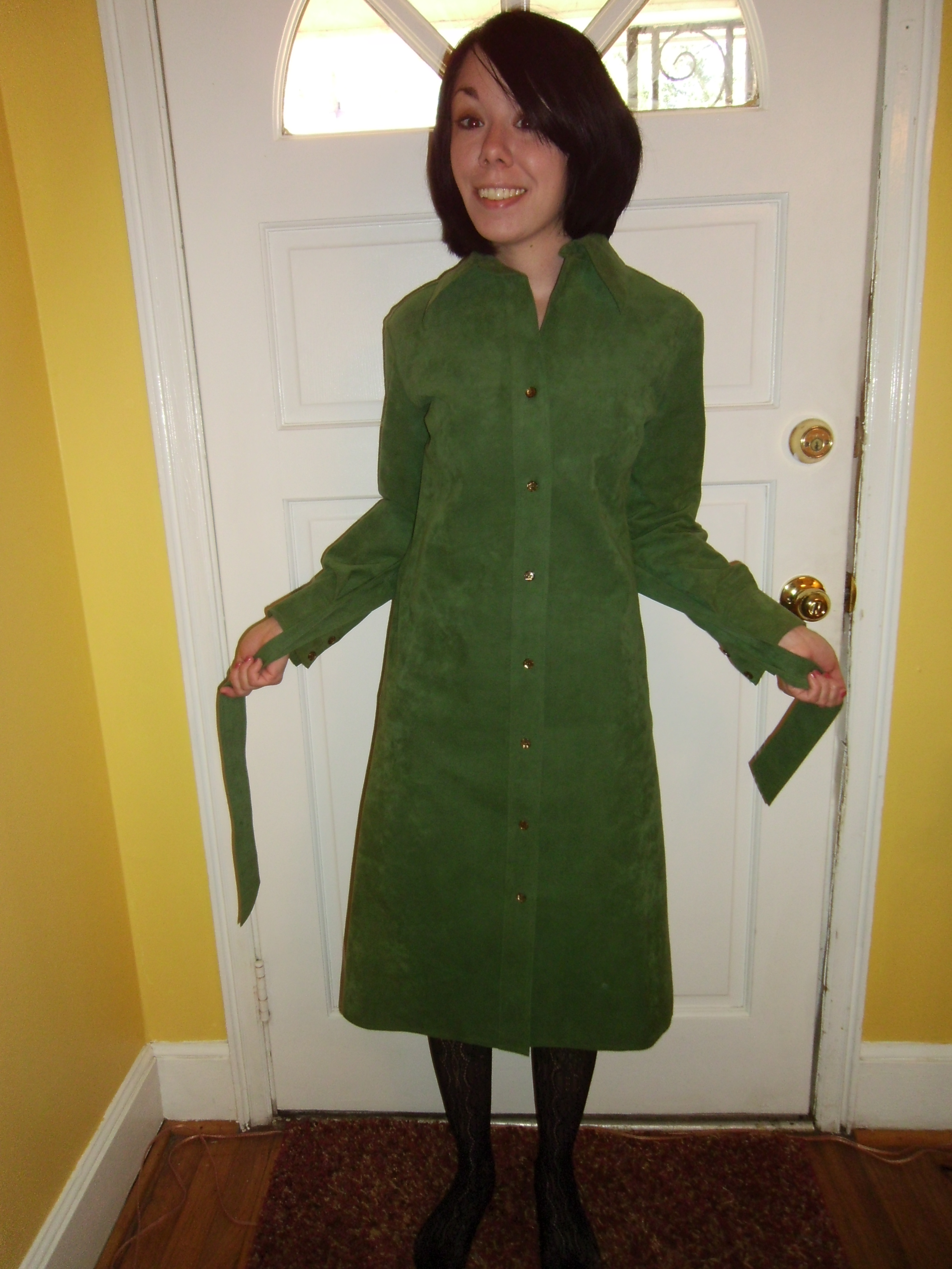 Day 156: Feeling Green Dress 18