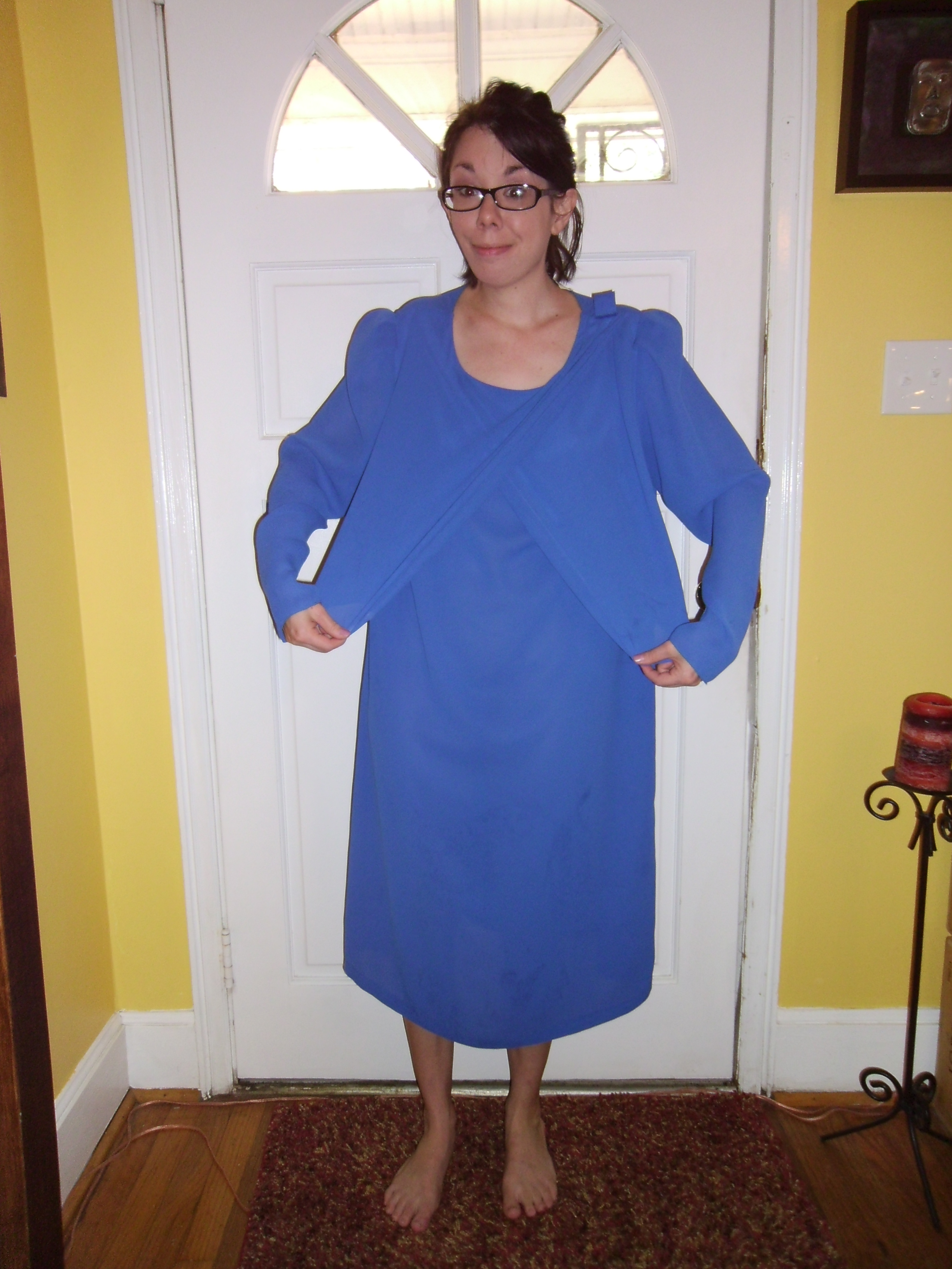 Day 170:  You Look Good in Blue Dress 2