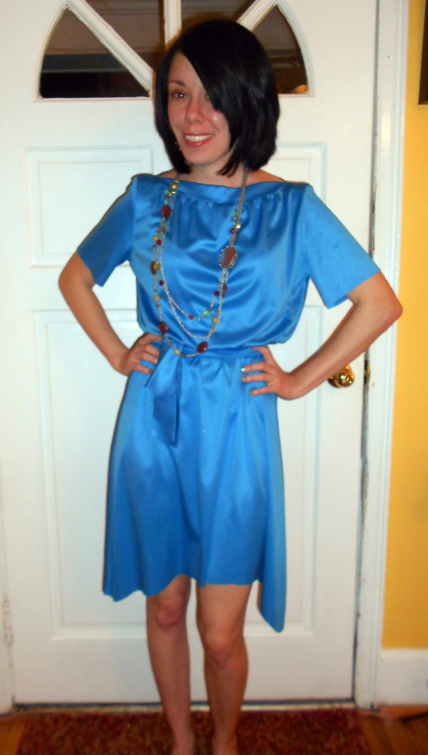 Day 215: Blue Skies Dress 5