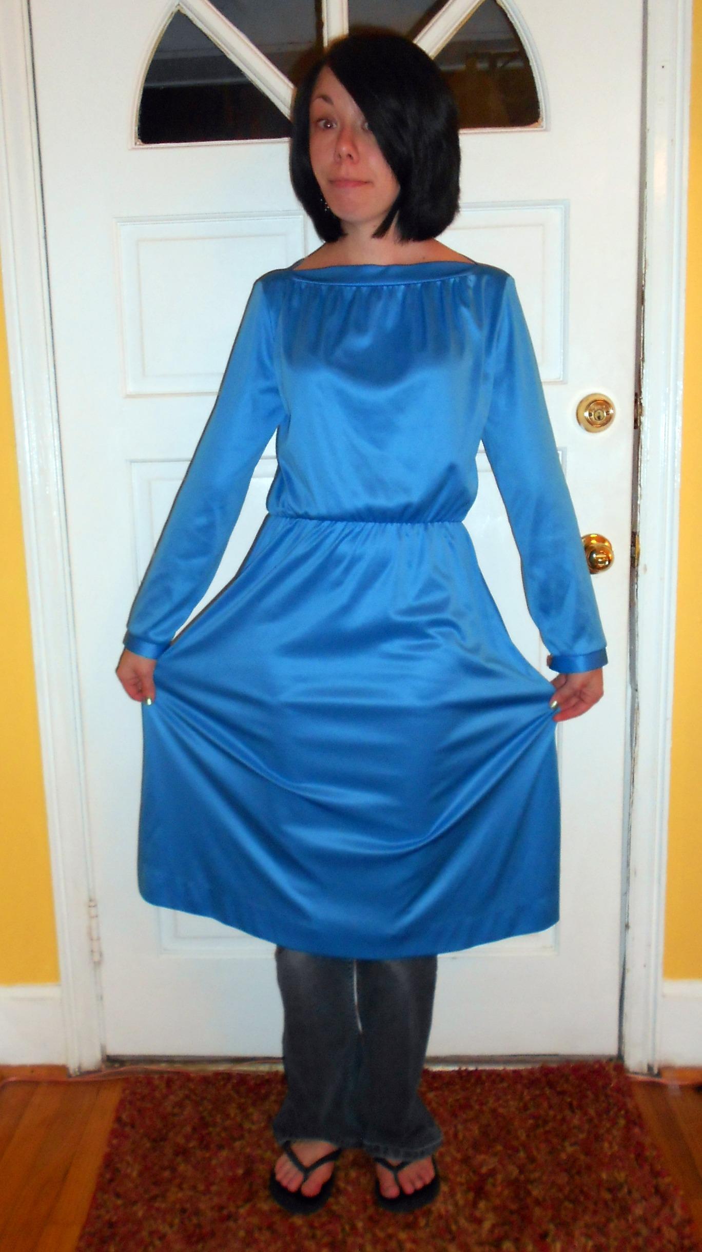 Day 215: Blue Skies Dress 2