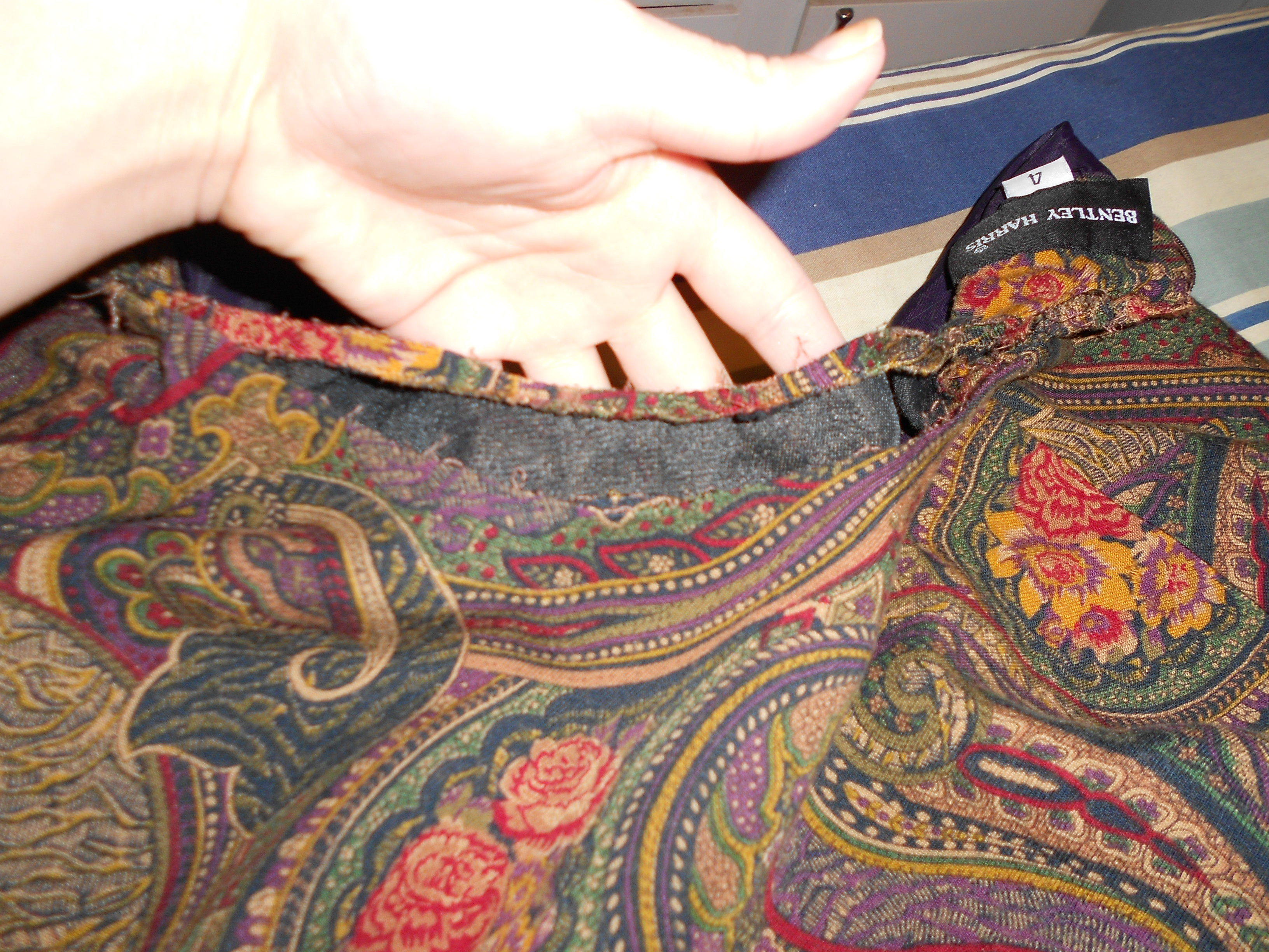 Day 198: Plucky in Paisley Dress 5