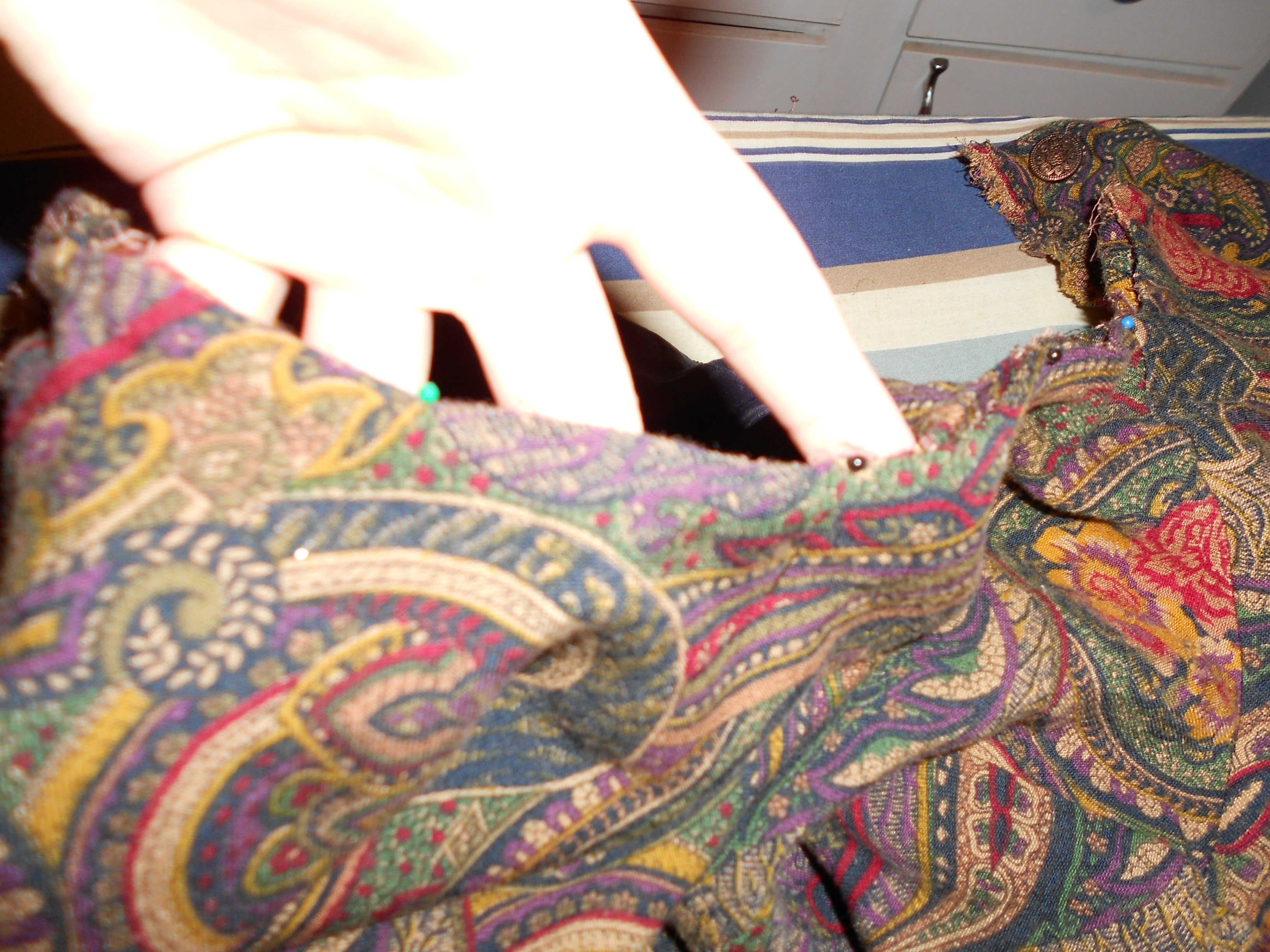 Day 198: Plucky in Paisley Dress 6