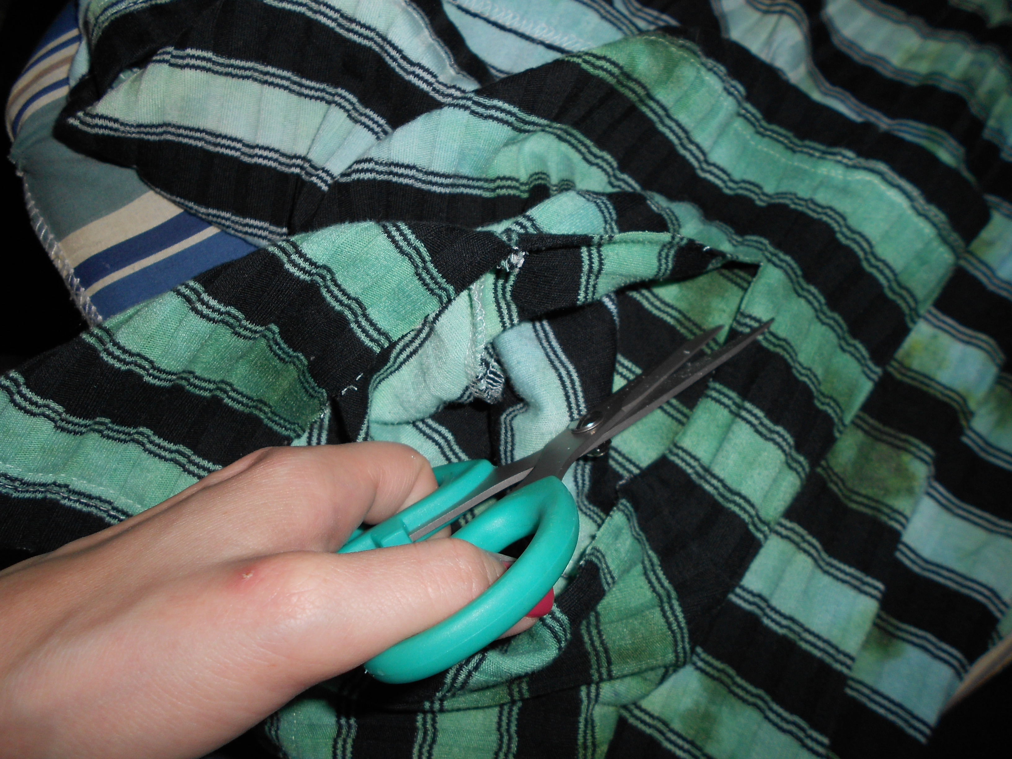 Day 207: A Jumper-to-Dress Dyed Refashion 9