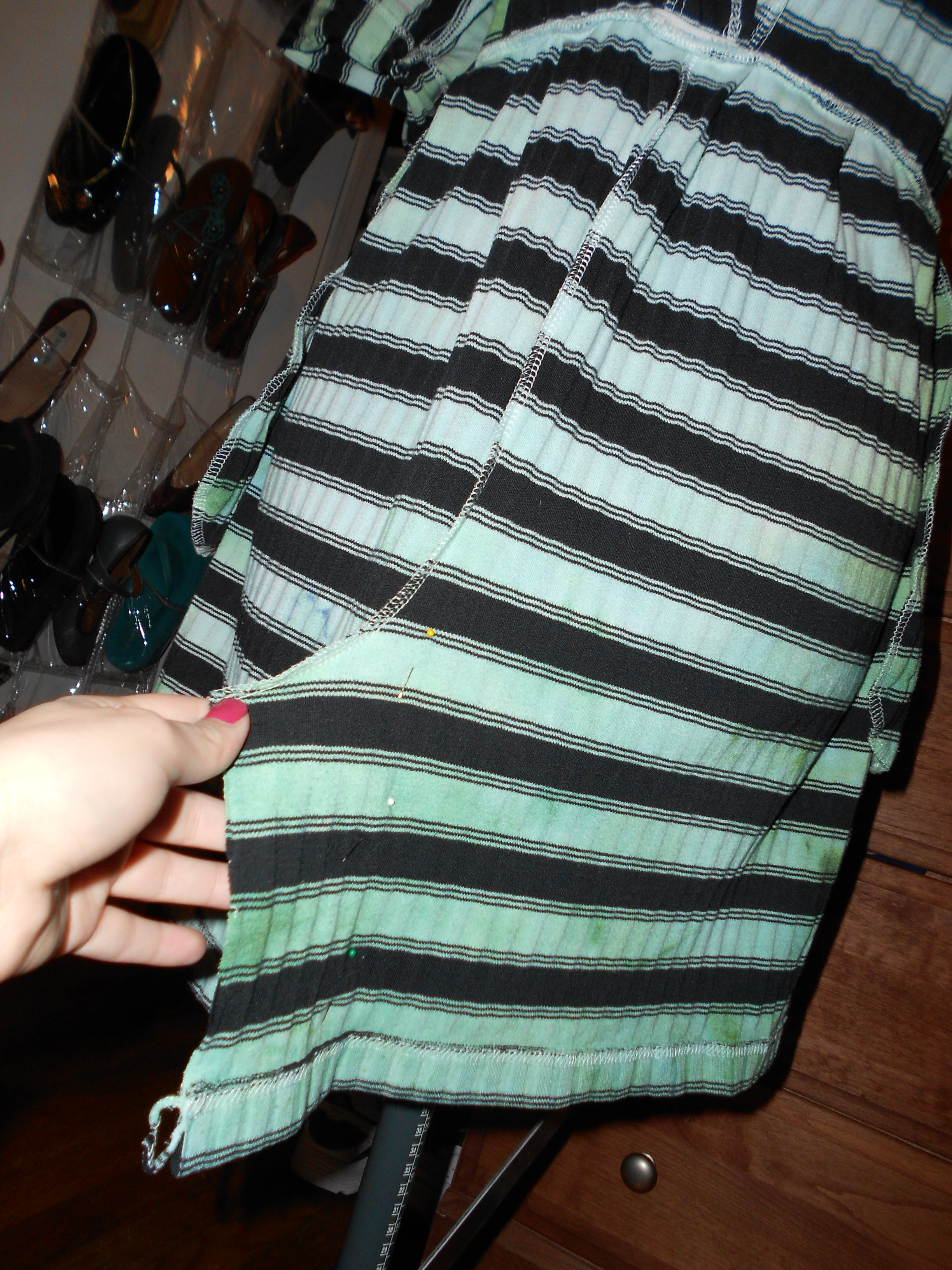 Day 207: A Jumper-to-Dress Dyed Refashion 12