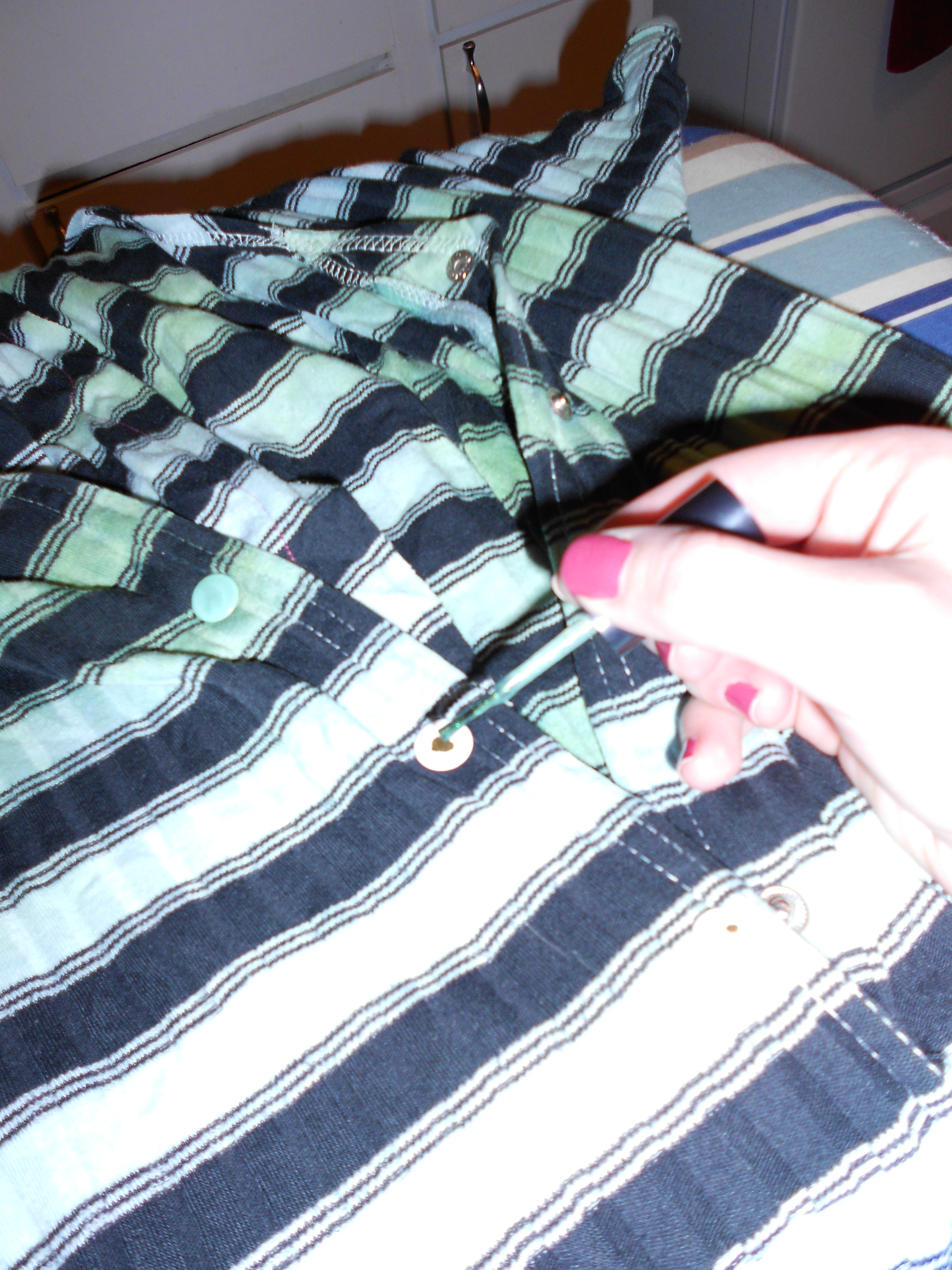 Day 207: A Jumper-to-Dress Dyed Refashion 14